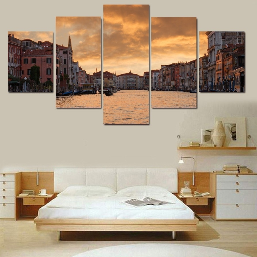 Well Known Gold Coast Canvas Wall Art For Online Get Cheap Prints Wall Gold Aliexpress (View 4 of 15)