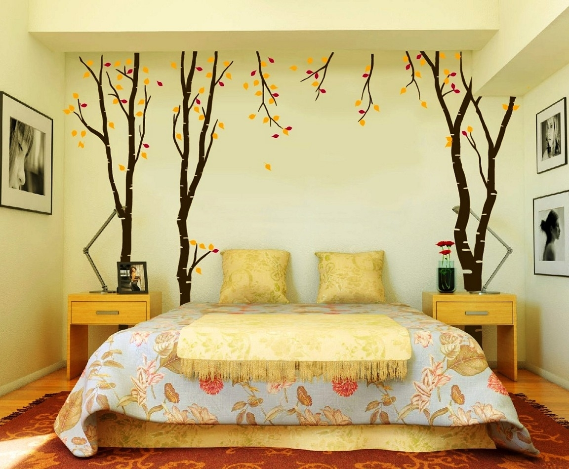 Well Known Gorgeous Wall Decor Ideas For Bedroom Diy Wall Decor As Cheap And With Regard To Wall Accents For Yellow Room (View 13 of 15)