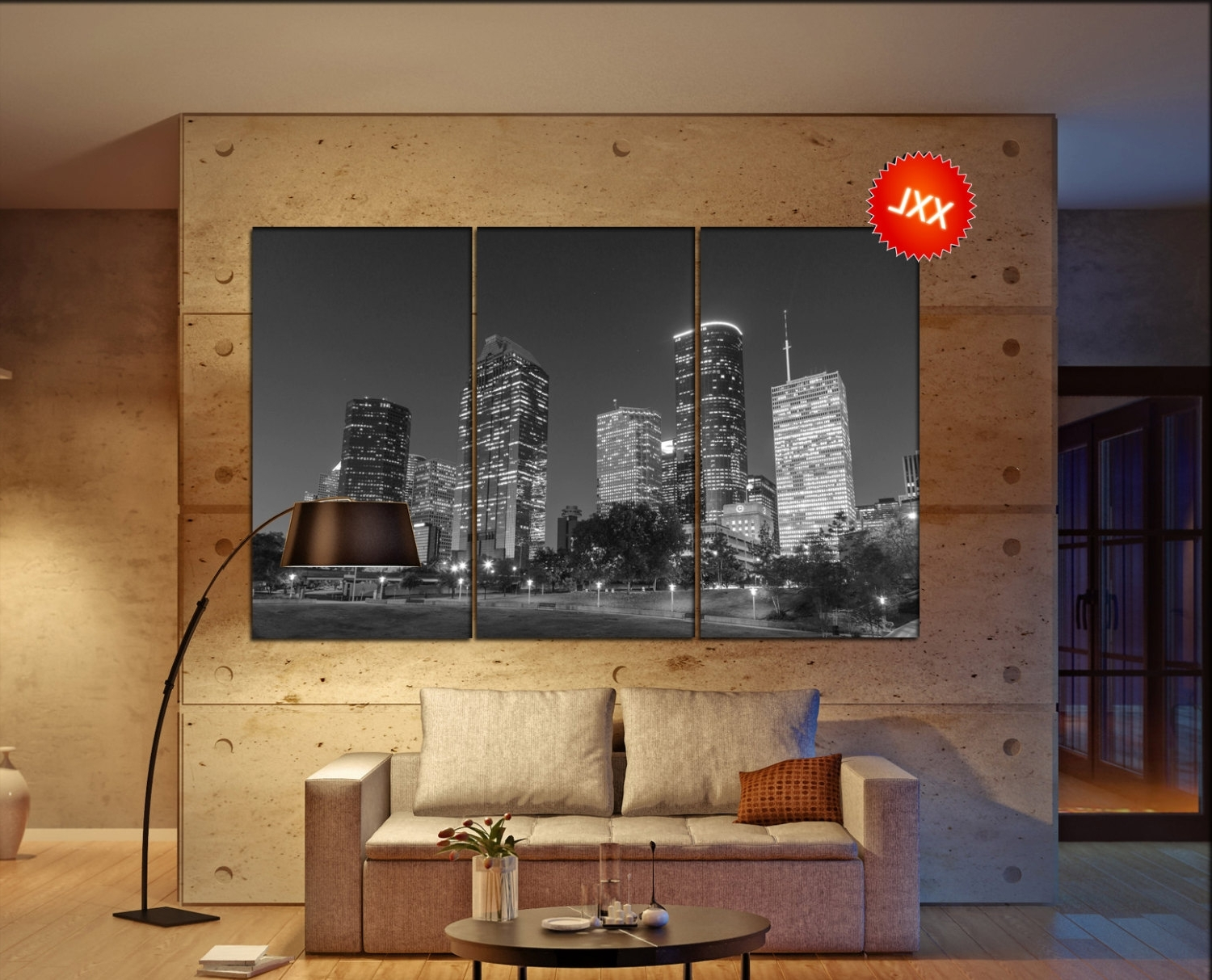 Featured Photo of Houston Canvas Wall Art
