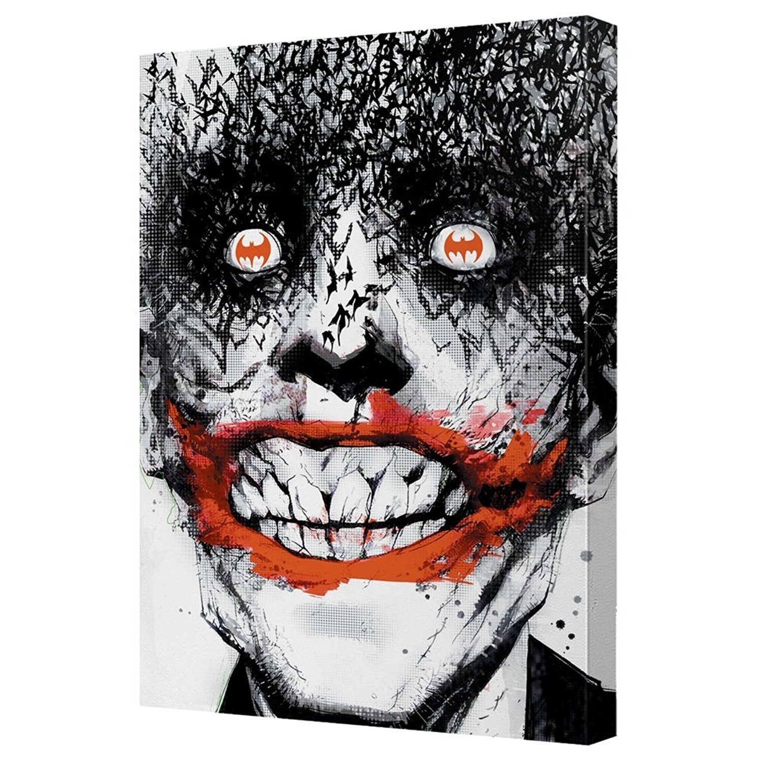 Well Known Joker Canvas Wall Art (View 12 of 15)