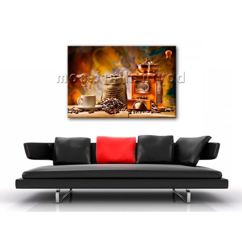 Well Known Large Contemporary Canvas Wall Art Print Coffee Restaurant Mural In Murals Canvas Wall Art (View 14 of 15)