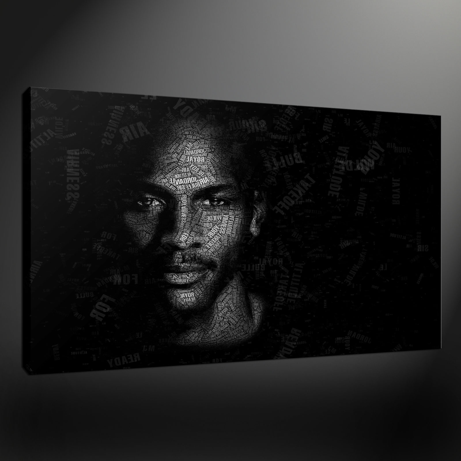 Well Known Michael Jordan Canvas Wall Art Intended For Canvas Print Pictures. High Quality, Handmade, Free Next Day Delivery. (Gallery 14 of 15)