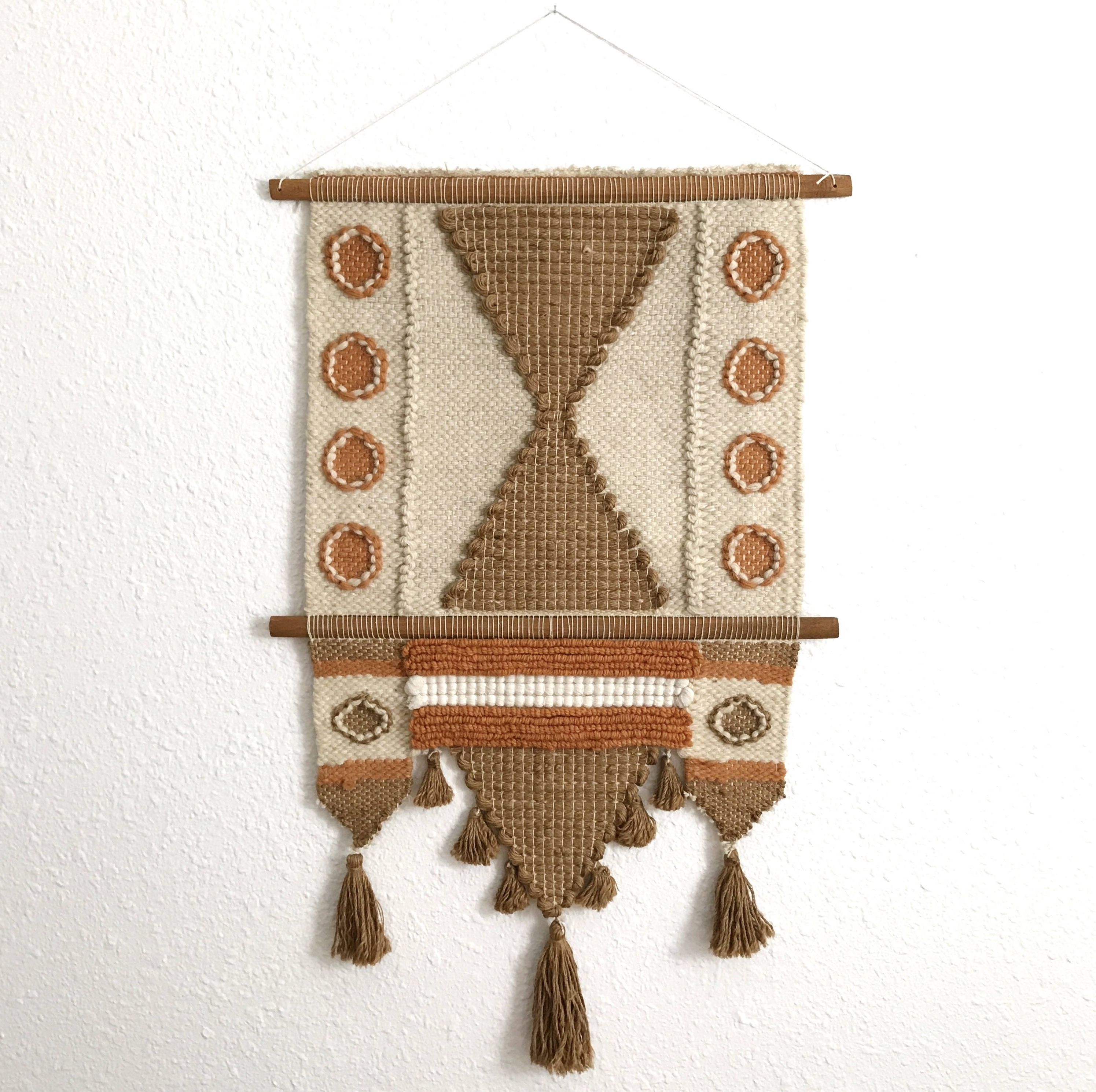 Well Known Mid Century Textile Wall Art Inside Vintage Don Freedman Wall Hanging / Vintage Wall Weaving / Jute (View 15 of 15)
