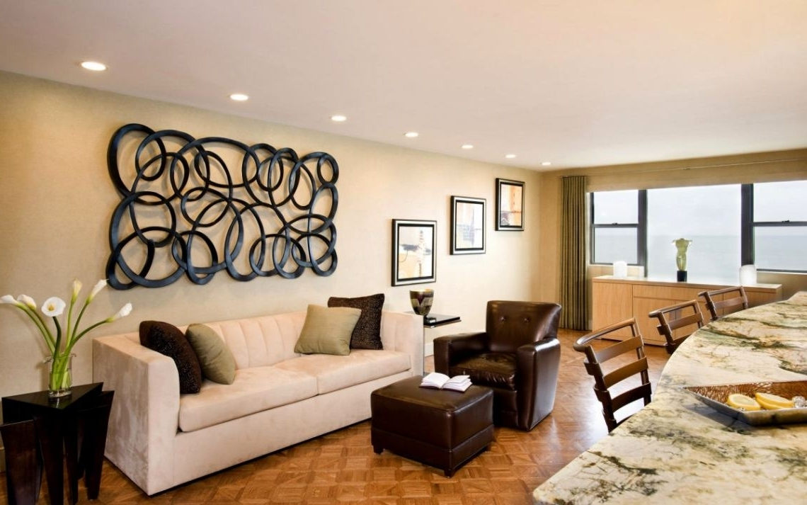 Well Known Modern Wall Decorations For Living Room #10 Image Of: Elegant For Modern Wall Accents (View 14 of 15)