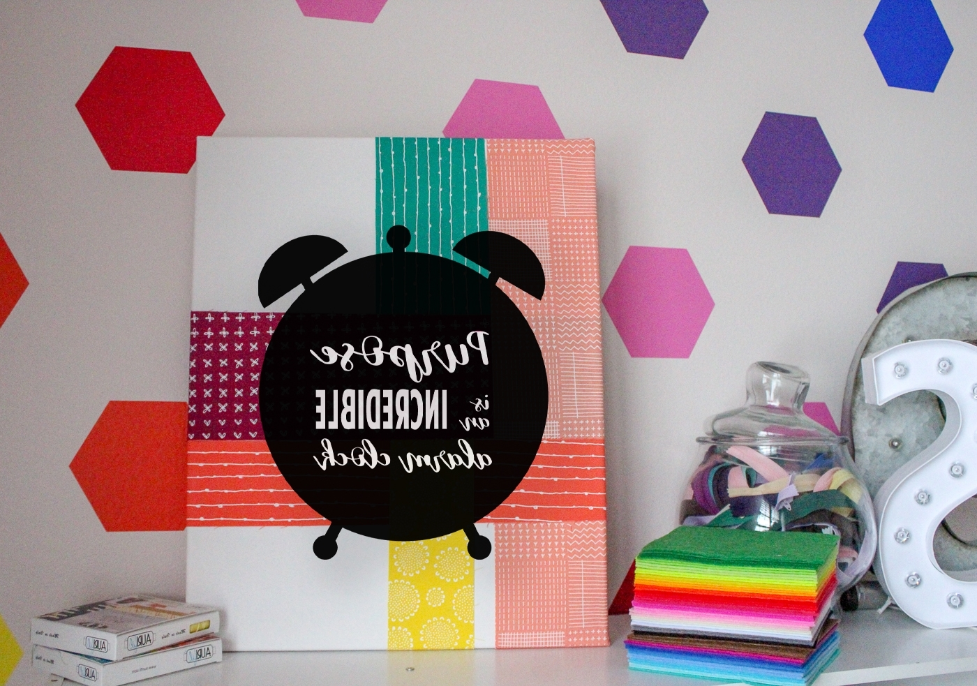 Well Known No Sew Fabric Wall Art With No Sew Fabric Motivational Canvas Artwork 15 Copy – Sew What, Alicia? (View 12 of 15)