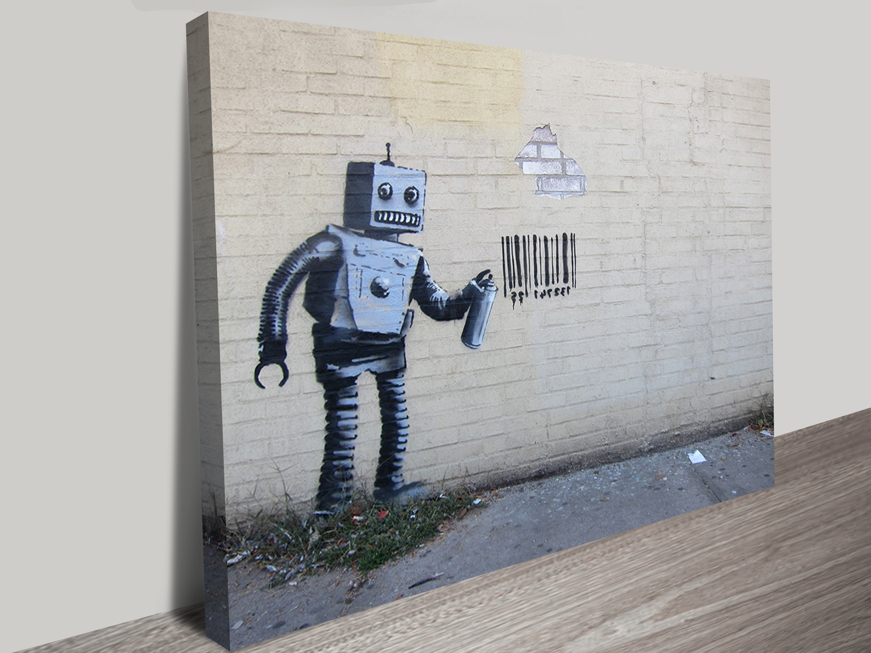 Well Known Robot Canvas Wall Art In Robot Canvas Print Australia (View 14 of 15)