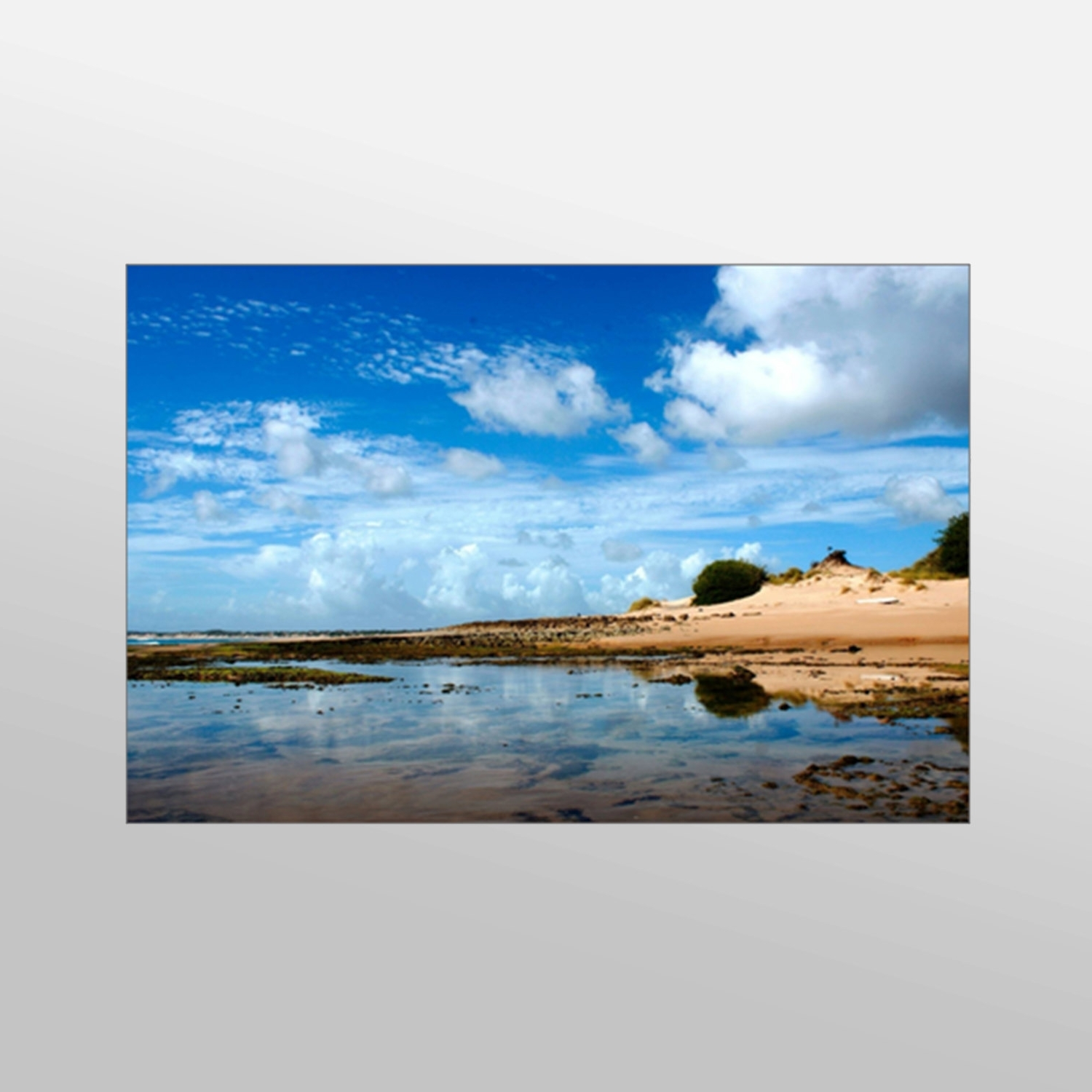 Well Known Wall Art Design: Beach Scene Wall Art Beautiful Beach Canvas Art For Canvas Wall Art Beach Scenes (View 2 of 15)