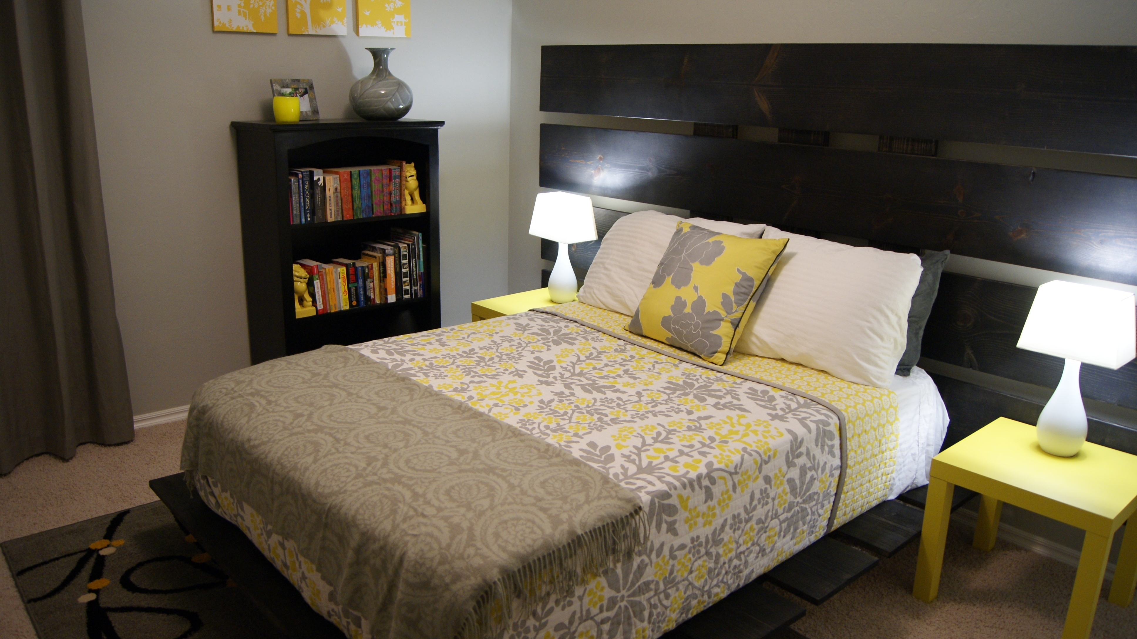 Well Known Wall Decor : Yellow And White Bedroom Gray Wall Art Yellow And In Wall Accents For Yellow Room (View 14 of 15)