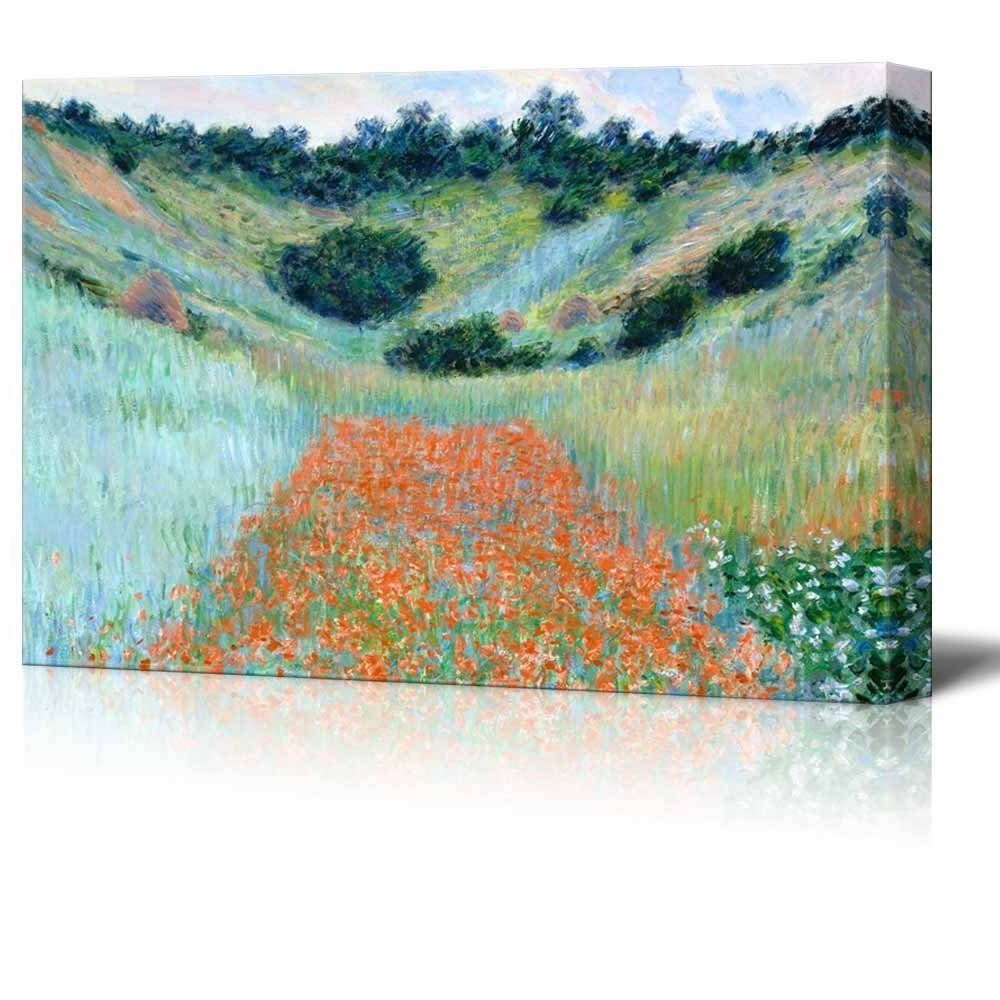 Well Known Wall26 – Art Prints – Framed Art – Canvas Prints – Greeting Regarding Monet Canvas Wall Art (View 15 of 15)