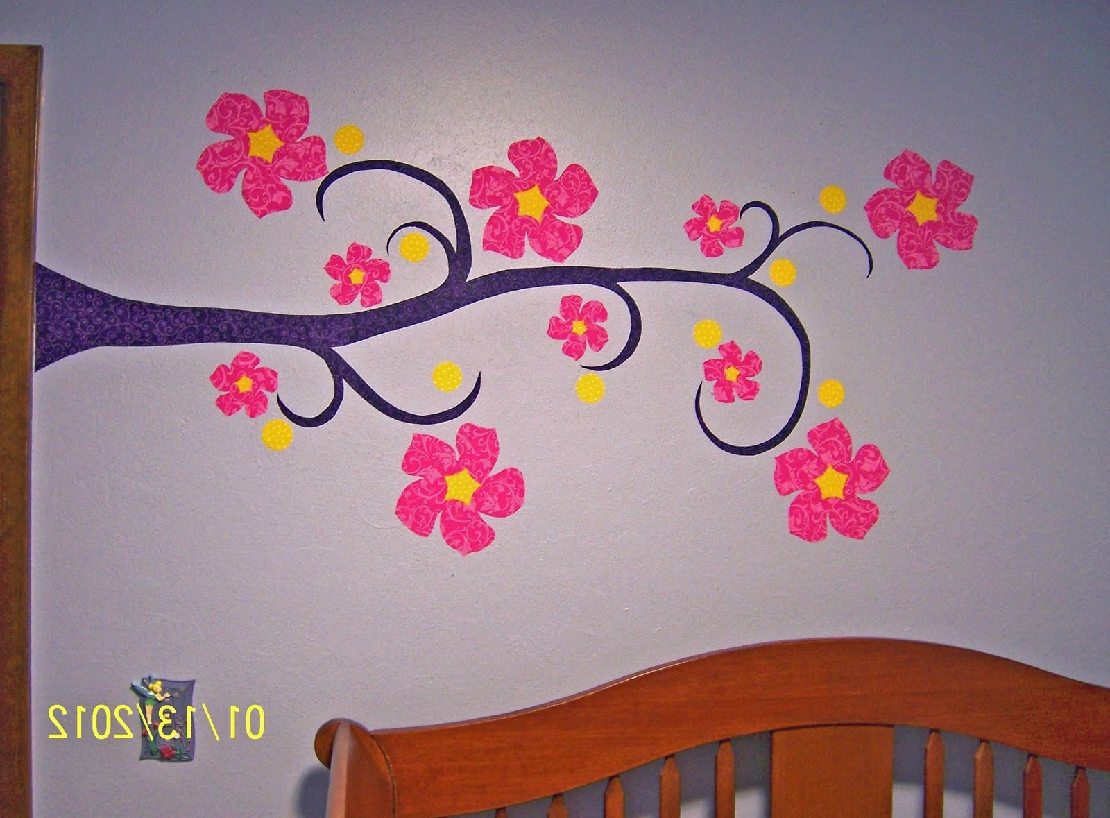 Well Known Whimsy Ma Blog: Fabric Wall Appliques  A Tutorial For Fabric Applique Wall Art (View 15 of 15)