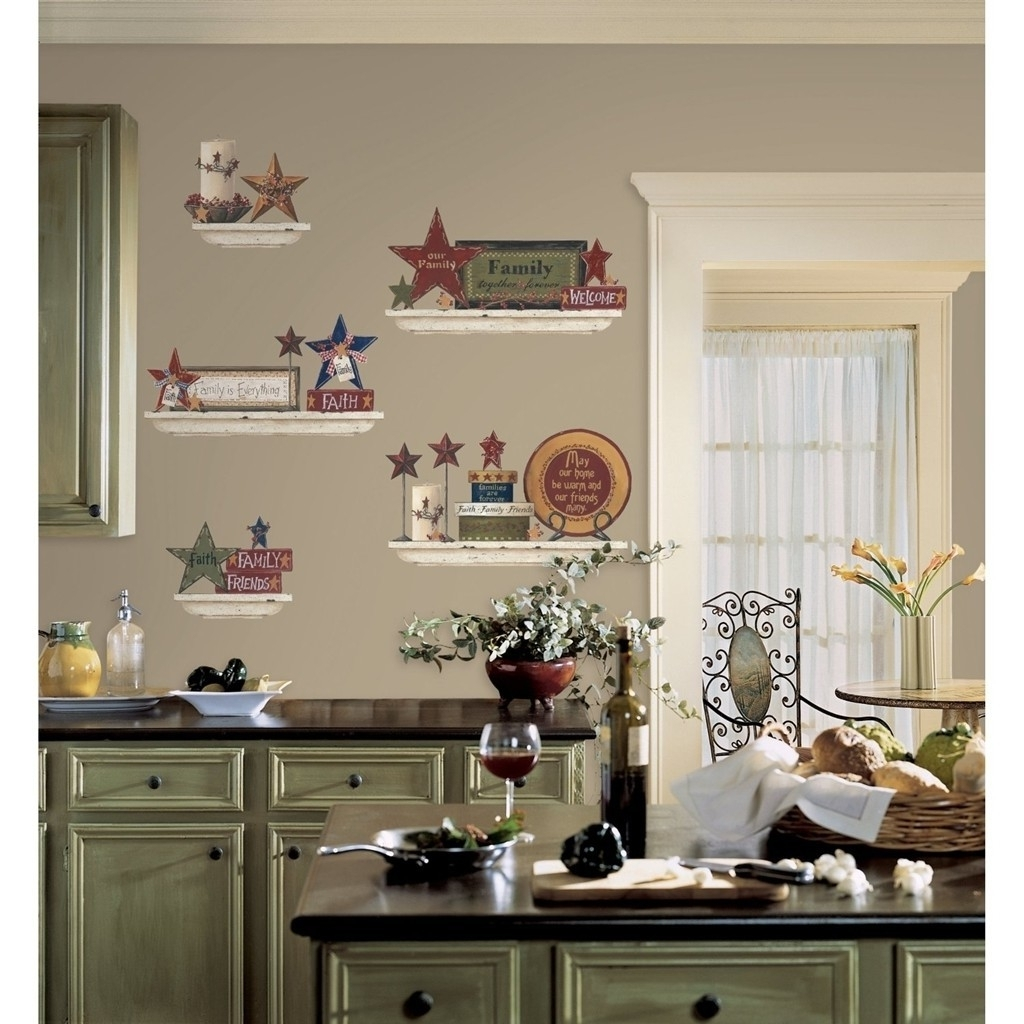Well Known White Kitchen Wall Decor For Wall Accents For Kitchen (View 14 of 15)