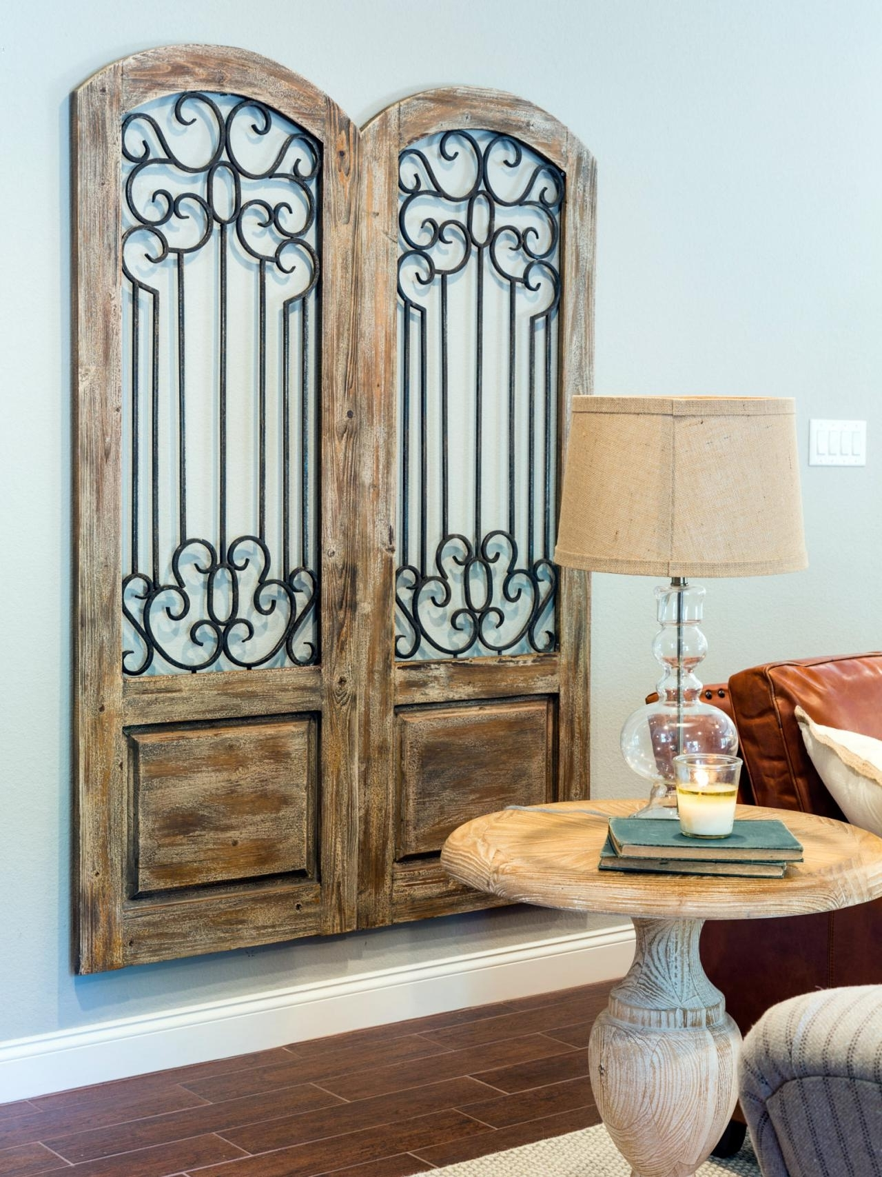 Well Liked Architectural Wall Accents Within Fill Your Walls With 'fixer Upper' Inspired Artwork: 11 Easy To (View 4 of 15)