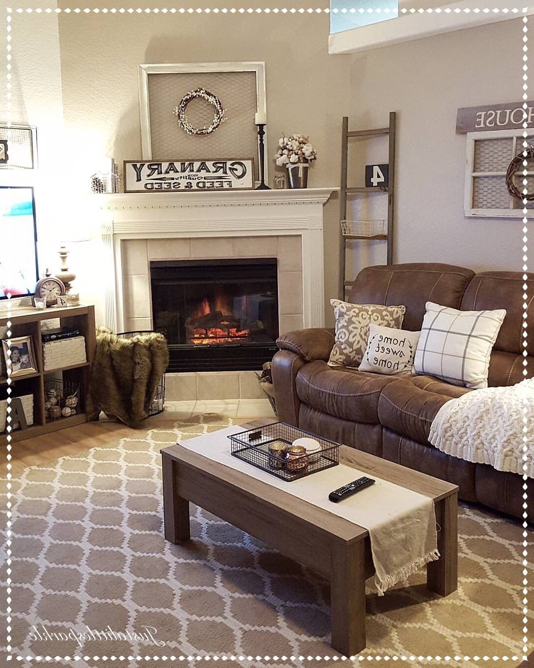 Well Liked Brown Couch Wall Accents Regarding 4 Farm House Living Room Maintenance Mistakes New Owners Make (View 5 of 15)