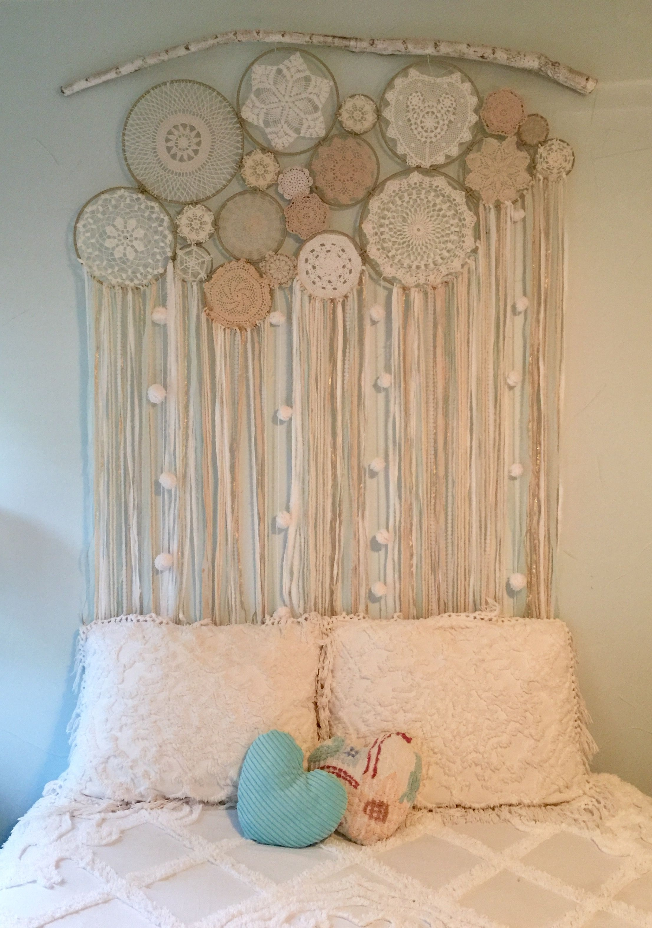 Well Liked Custom Made Dreamcatcher Wall Hanging (View 15 of 15)