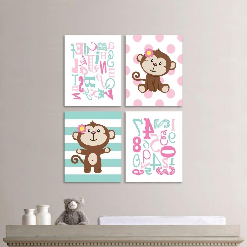 Well Liked Girl Nursery Wall Accents In Wall Decor : Baby Boy Nursery Decorating Ideas Nursery Wall Art (View 15 of 15)