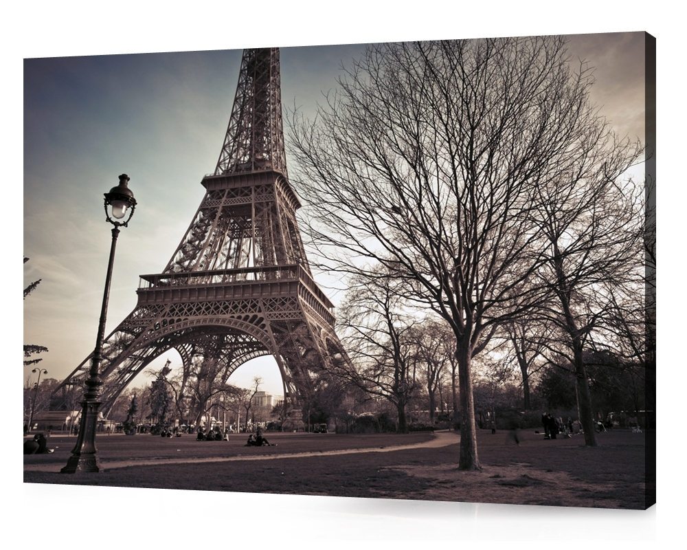 Featured Photo of Eiffel Tower Canvas Wall Art