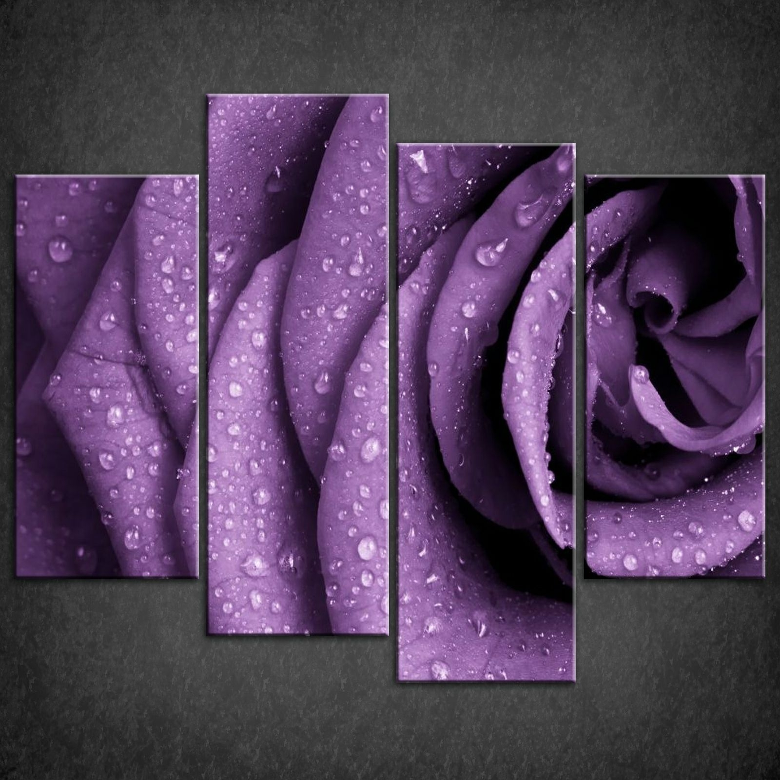 Widely Used Canvas Wall Art In Purple With Wall Art: Beautiful Gallery Purple Wall Art Canvas Purple Wall Art (View 2 of 15)