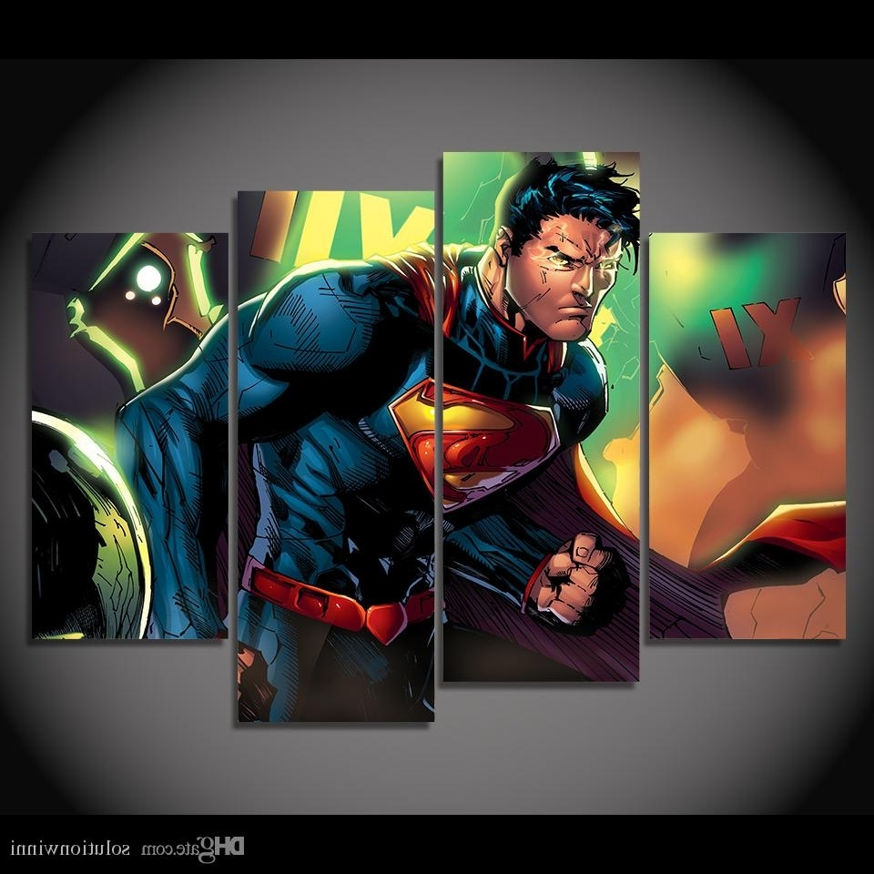 Widely Used Kent Canvas Wall Art Pertaining To 2018 Framed Hd Printed Superman Clark Kent Picture Wall Art Canvas (View 10 of 15)