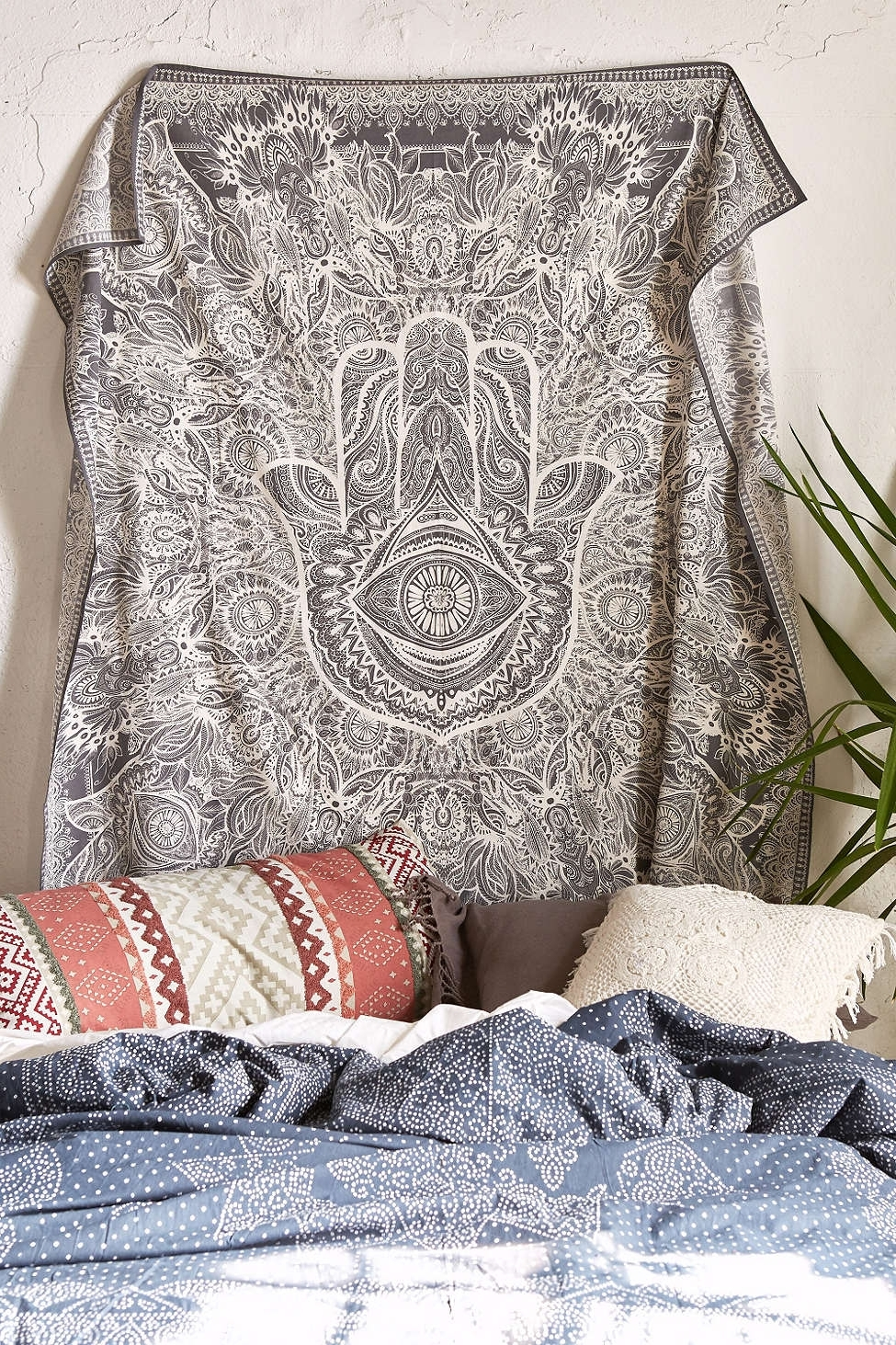 Widely Used Magical Thinking Sketched Hamsa Tapestry – Urban Outfitters For Fabric Wall Art Urban Outfitters (View 15 of 15)