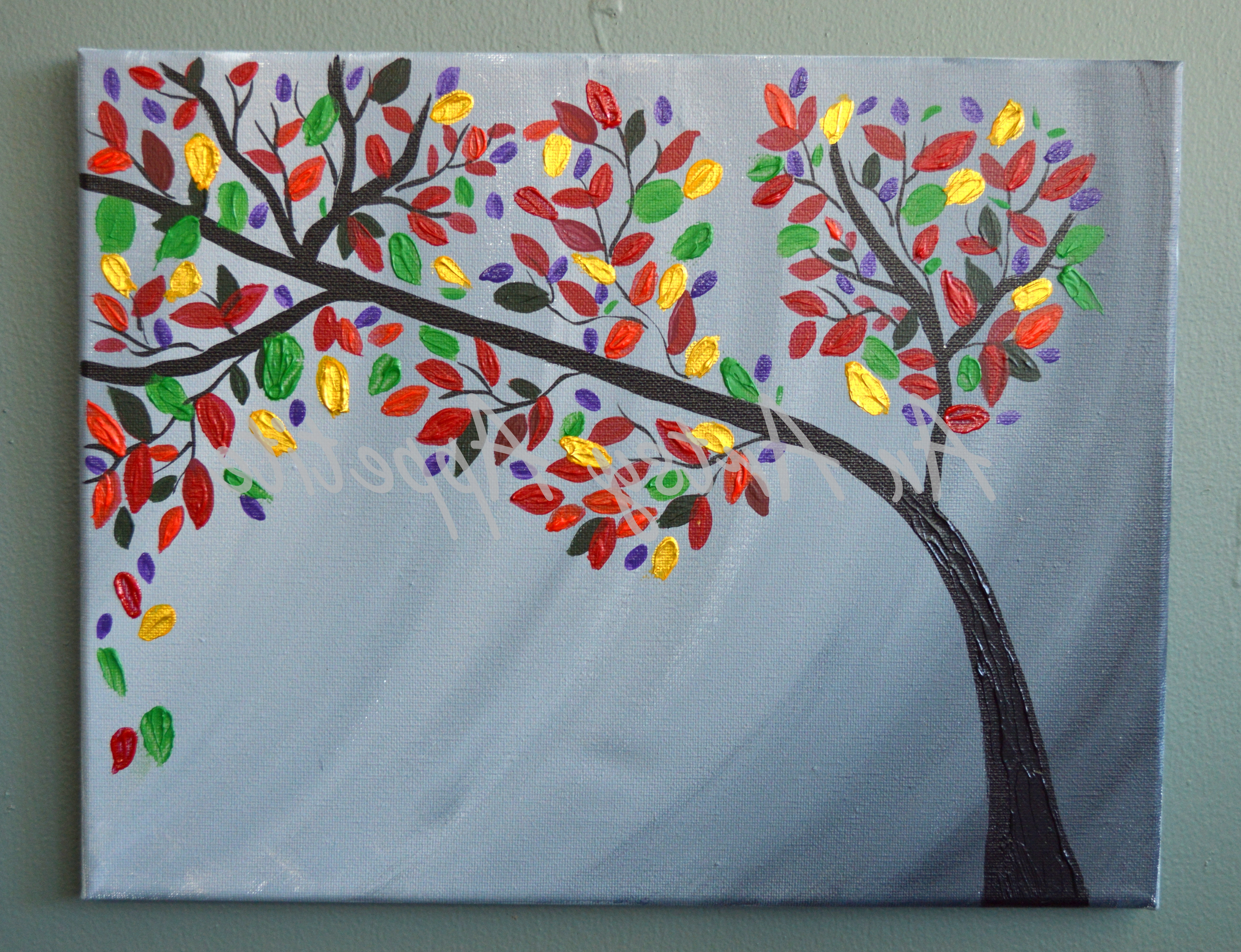 Widely Used Textured Fabric Wall Art Pertaining To Lovebirds On A Tree ~ Multi Canvas Textured Painting (View 14 of 15)