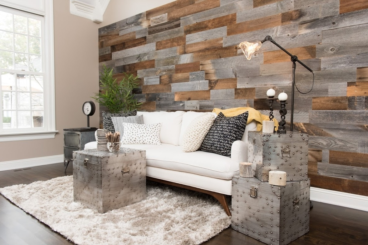Wood Paneling Wall Accents Throughout Well Known Artis Wall – Reclaimed Wood Paneling (View 12 of 15)