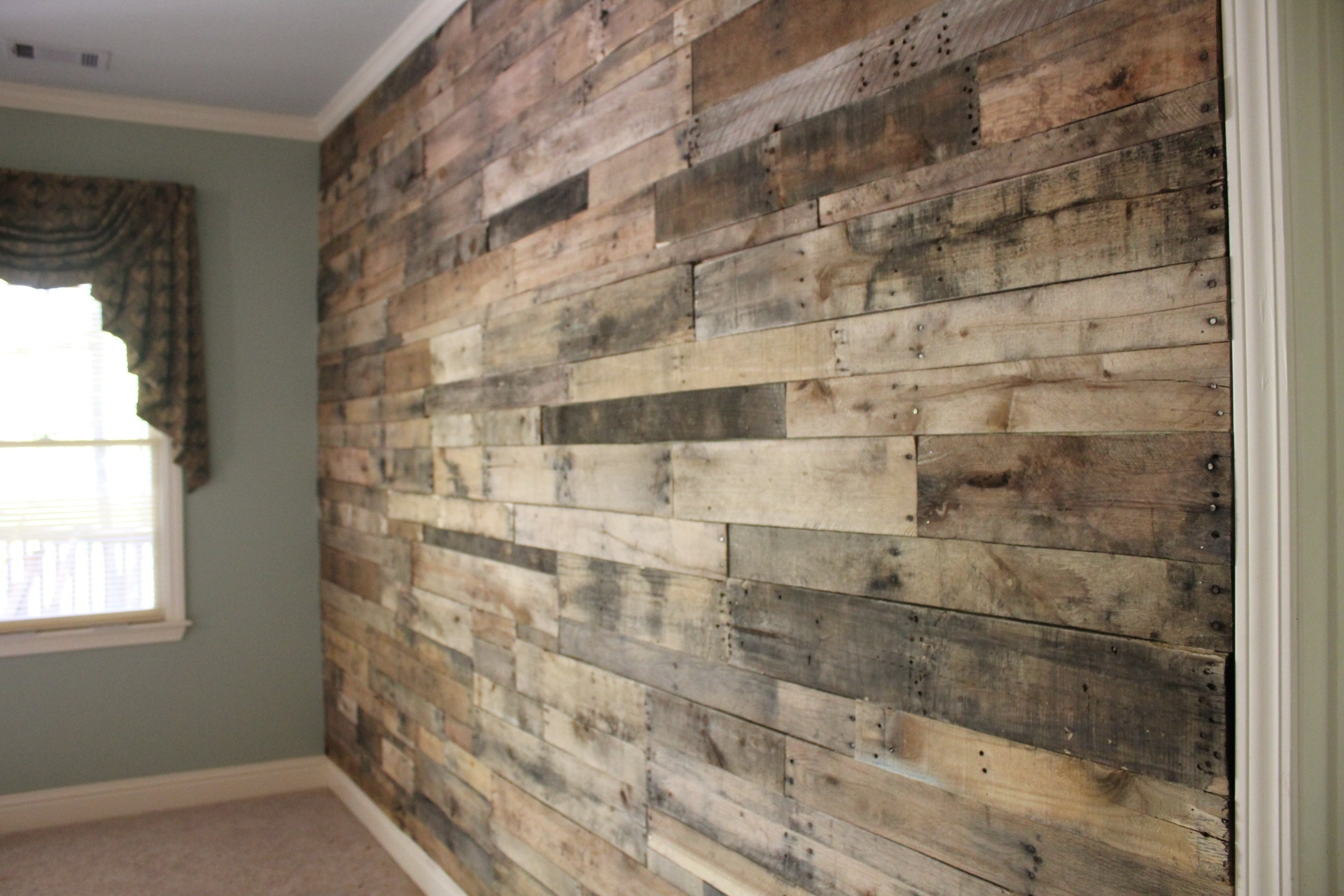 Wood Wall Accent Wall Art Ideas Wooden Accent Wall Bedroom Accent For 2018 Wood Wall Accents (View 15 of 15)
