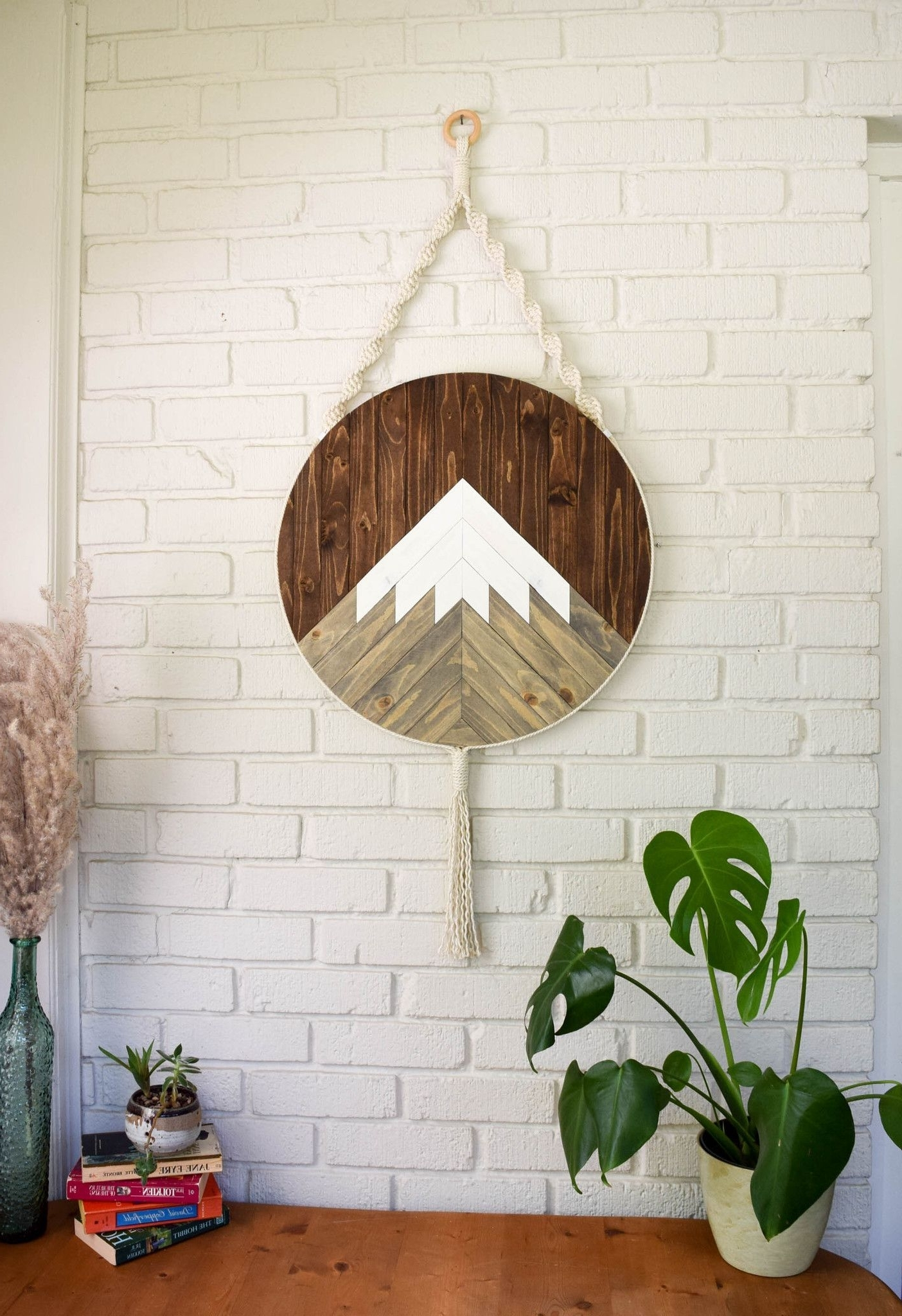 Wood Wall Art Pertaining To Round Fabric Wall Art (View 15 of 15)