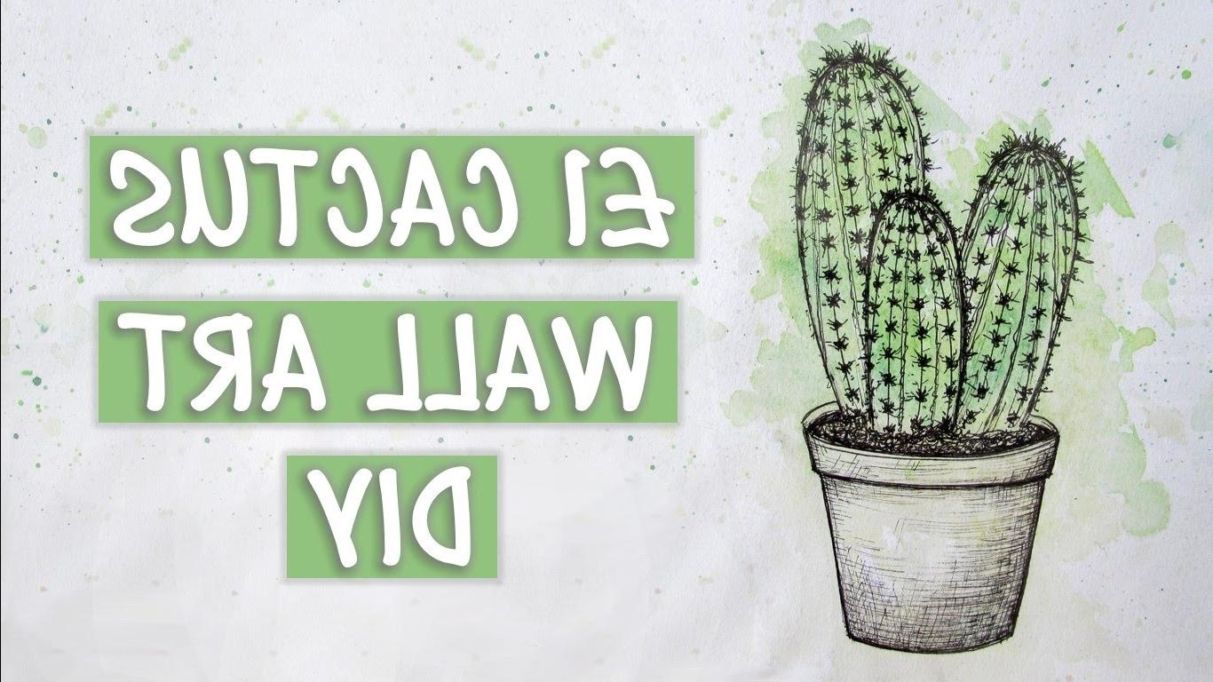 1 Cactus Wall Art Diy (View 2 of 20)
