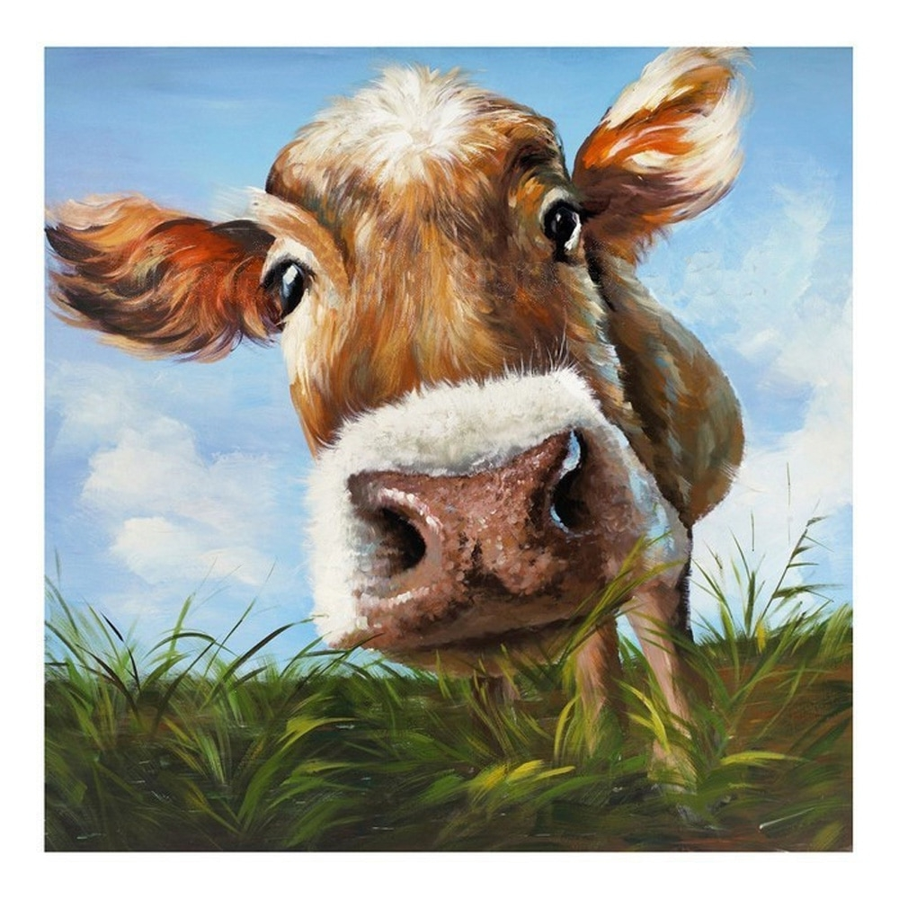 [%100%handpainted Modern Cow Pictures Abstract Art On Canvas Animals Regarding Fashionable Cow Canvas Wall Art|Cow Canvas Wall Art In Most Recent 100%handpainted Modern Cow Pictures Abstract Art On Canvas Animals|Current Cow Canvas Wall Art With Regard To 100%handpainted Modern Cow Pictures Abstract Art On Canvas Animals|Most Popular 100%handpainted Modern Cow Pictures Abstract Art On Canvas Animals Within Cow Canvas Wall Art%] (View 1 of 20)