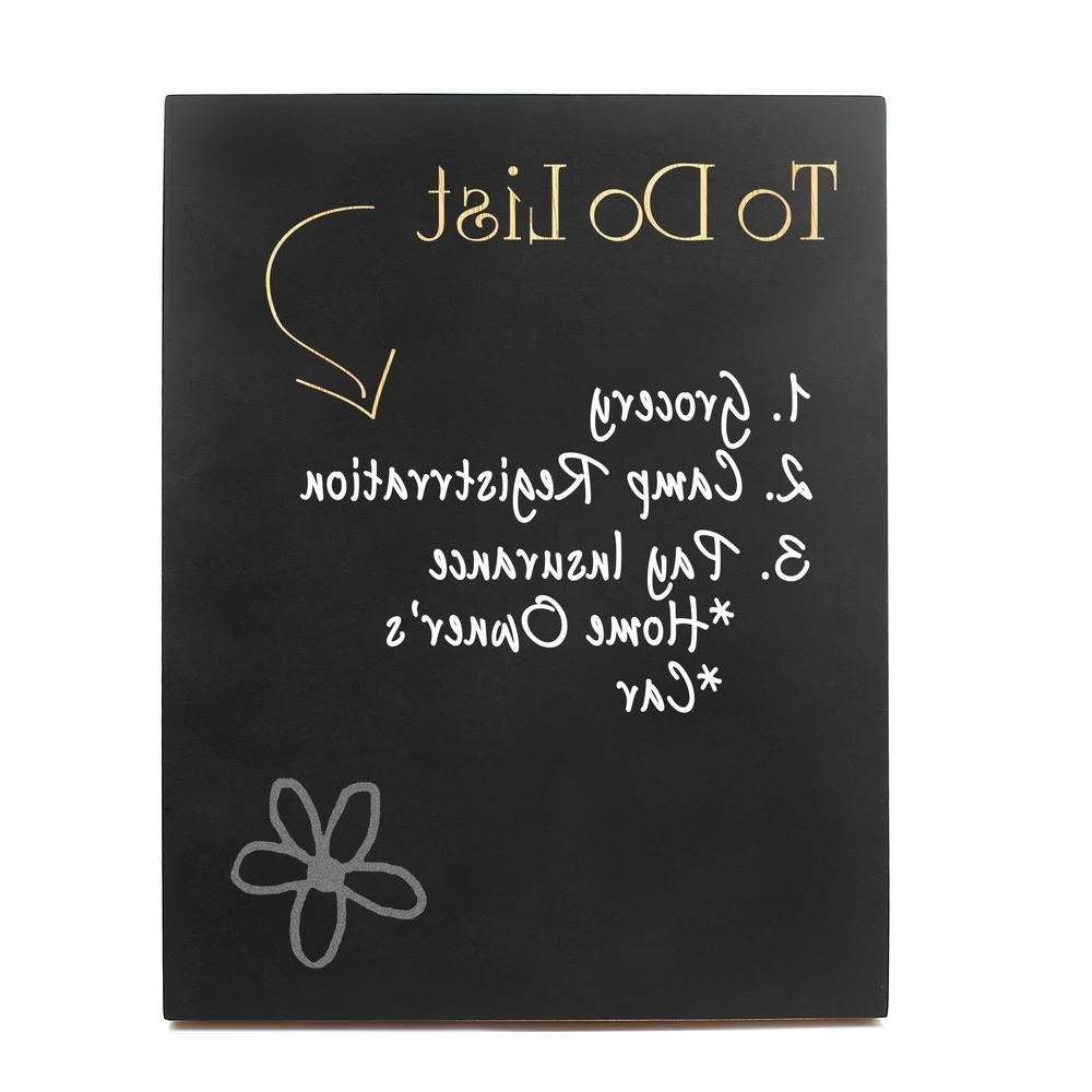 14 In. X 11 In. To Do List Chalkboard Wooden Wall Art 2140L – The Throughout Popular Chalkboard Wall Art (Gallery 19 of 20)