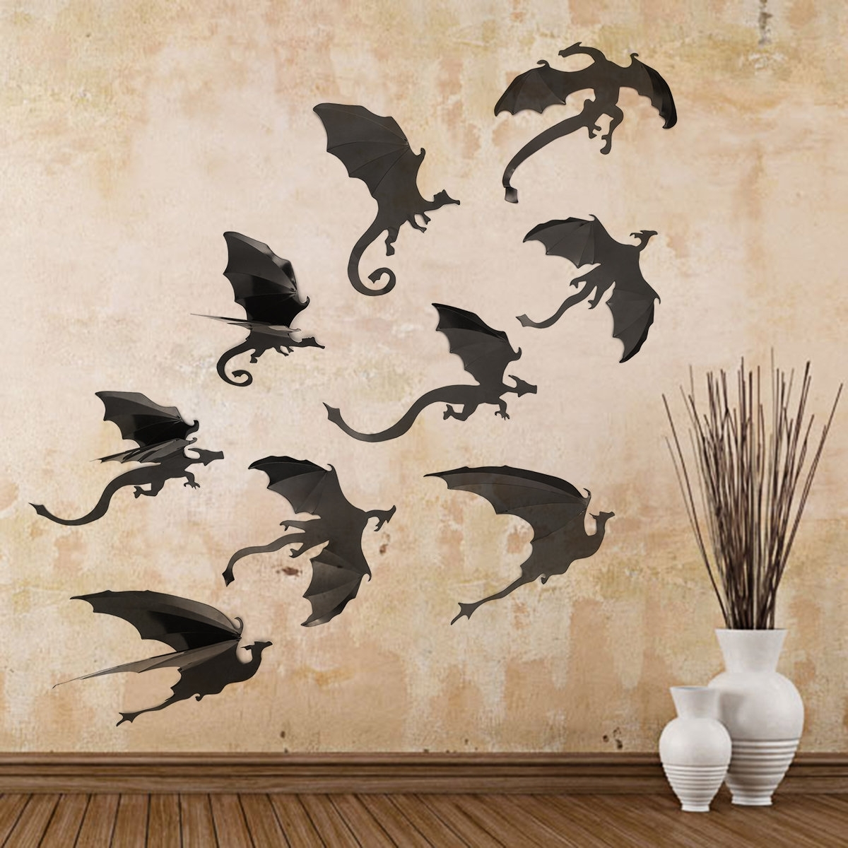 2017 Dragon Wall Art With Regard To Wall Decoration. Dragon Wall Art – Wall Decoration And Wall Art Ideas (Gallery 17 of 20)