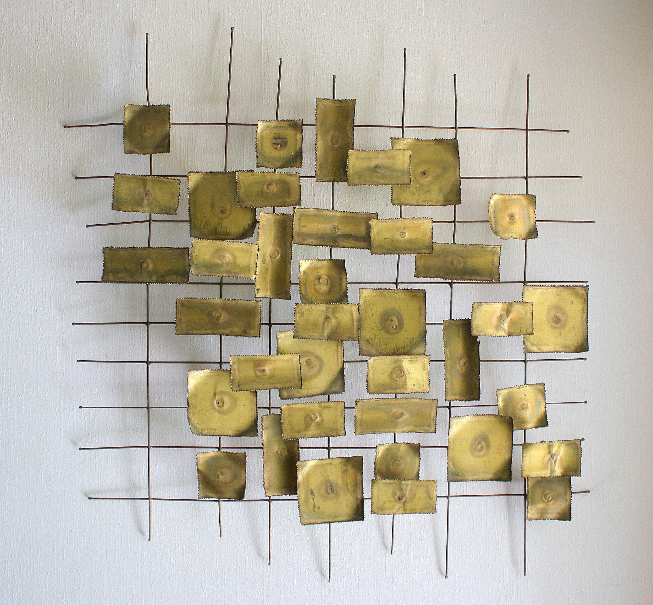 2017 Mid Century Modern Brutalist Wall Sculpture Art (View 1 of 20)