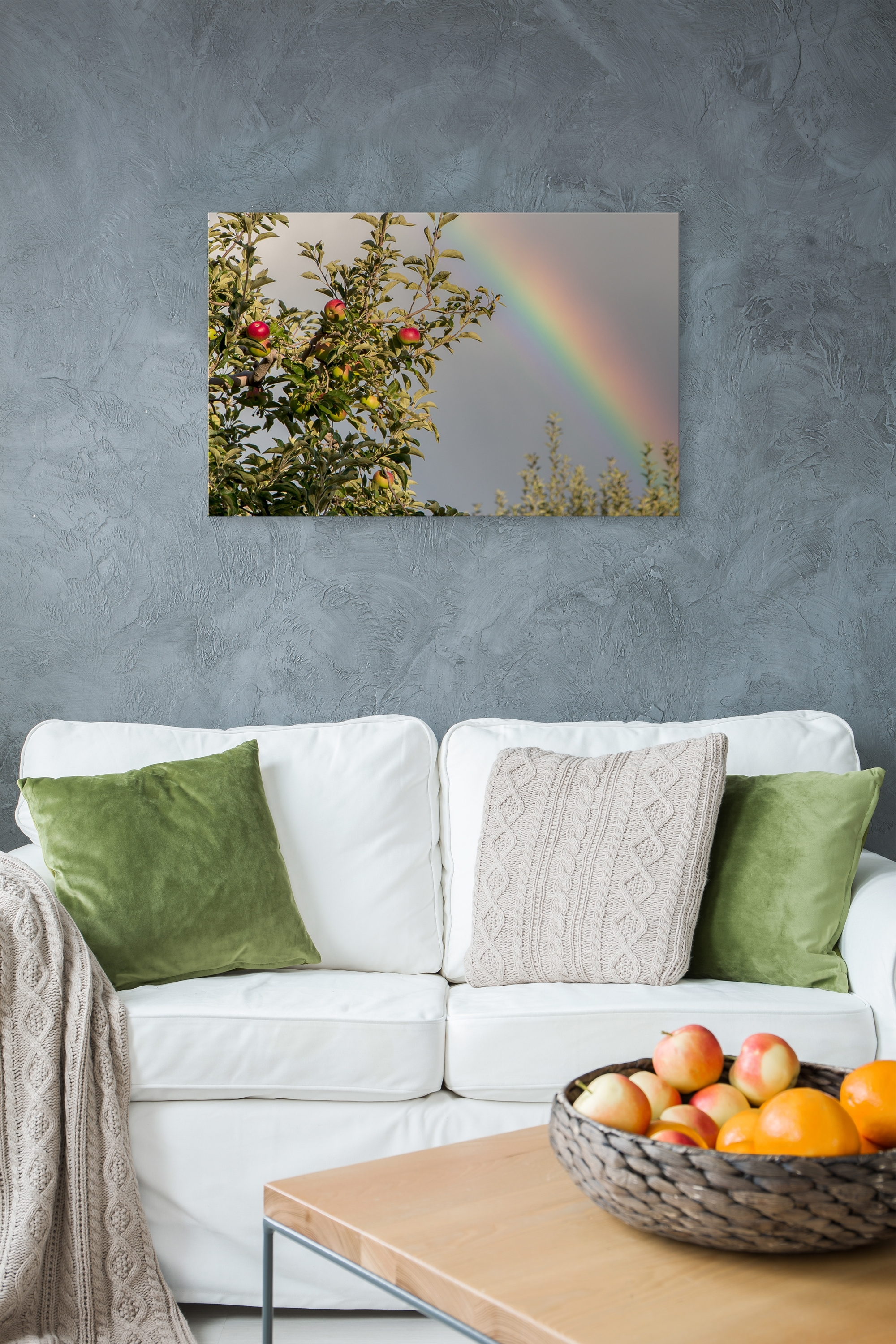 2017 Orchard Rainbow – Rogue Aurora Photography Inside Nature Wall Art (View 12 of 20)