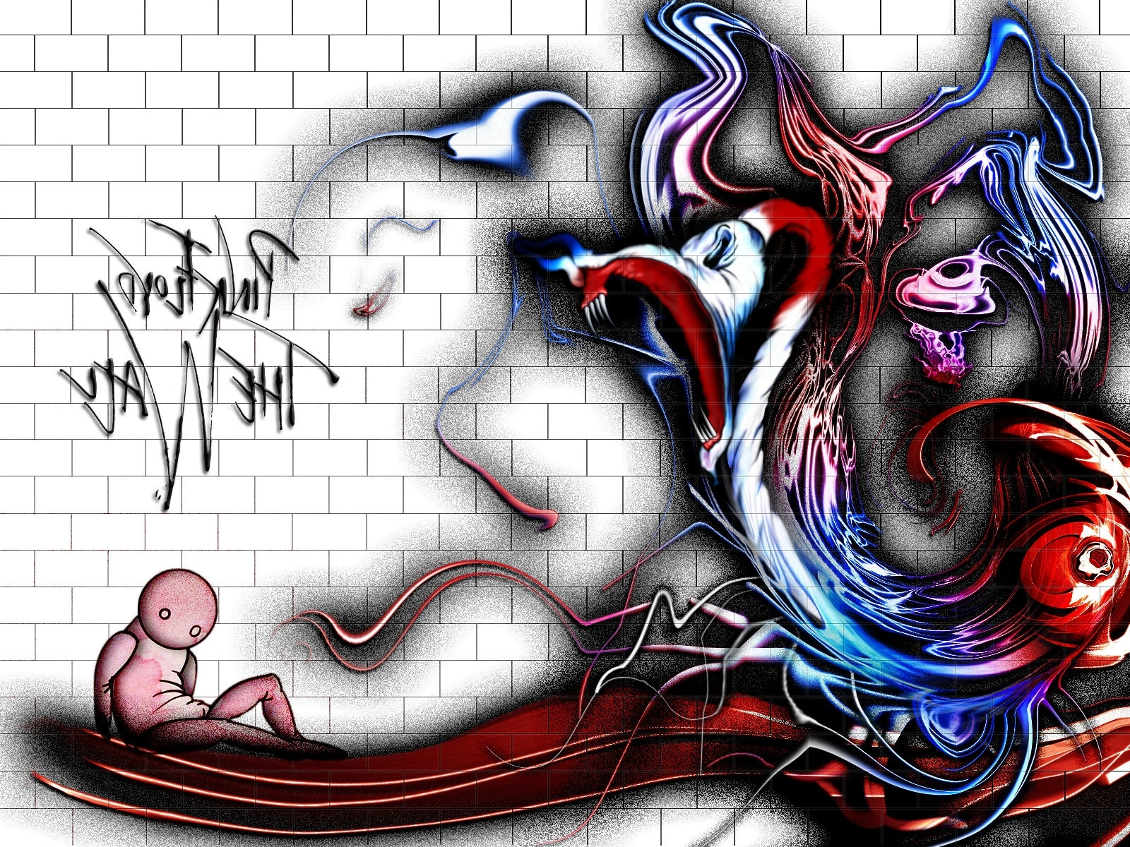 2017 Pink' Floyd – The Wallemrat On Deviantart Regarding Pink Floyd The Wall Art (Gallery 3 of 20)