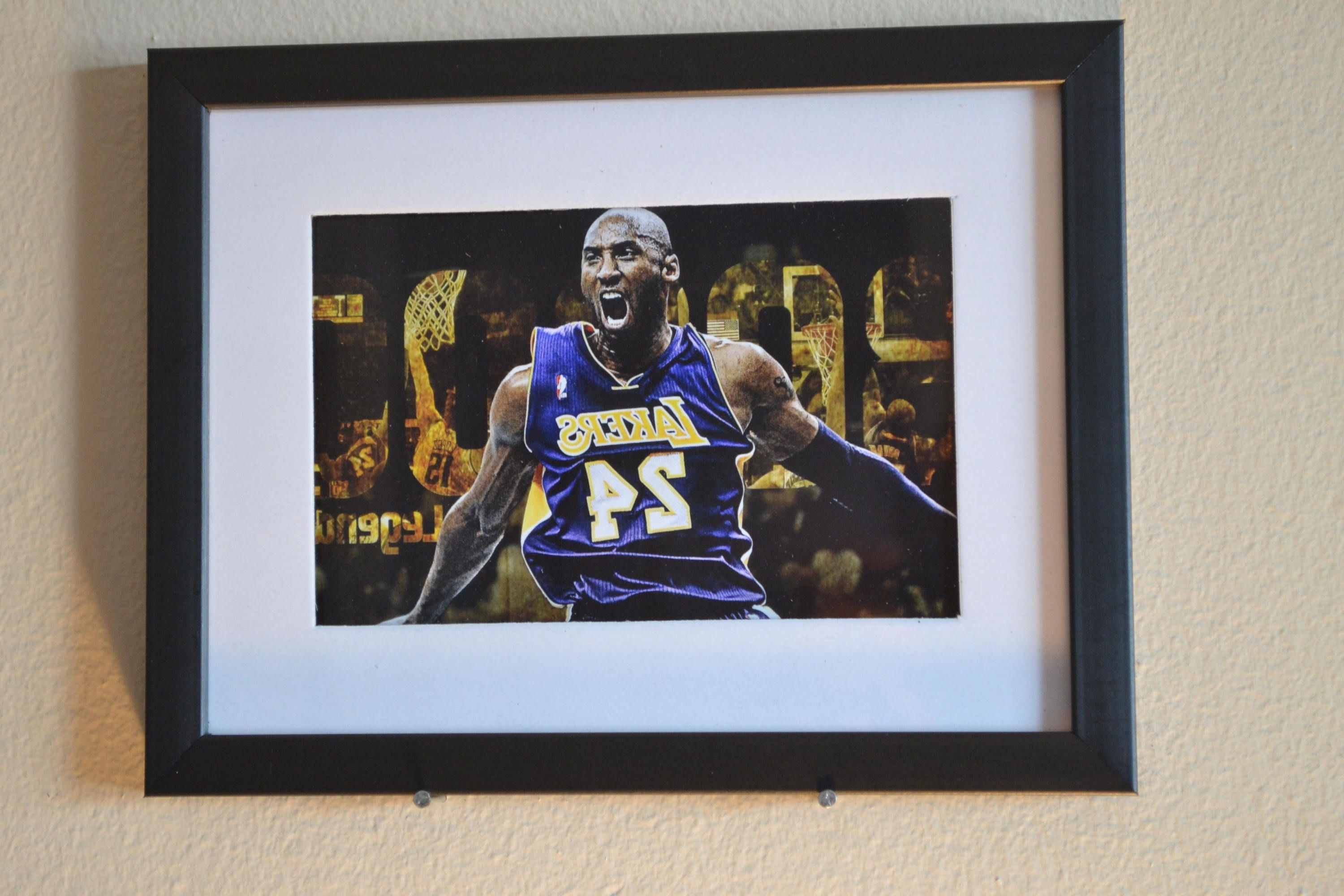 "2017 Sports Wall Art With Regard To Sports Wall Art Kobe Bryant ""fury"" Best Selling Item (View 13 of 20)"