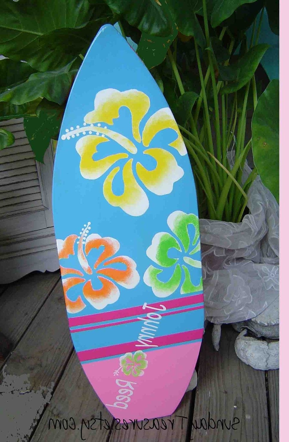 2017 Surfboard Wall Art Within 27 Inch Surfboard (View 1 of 20)