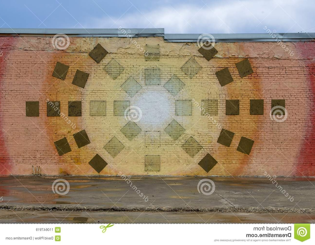 2017 Texas Wall Art Within Wall Art Mural In Deep Ellum, Dallas, Texas Editorial Stock Image (View 18 of 20)