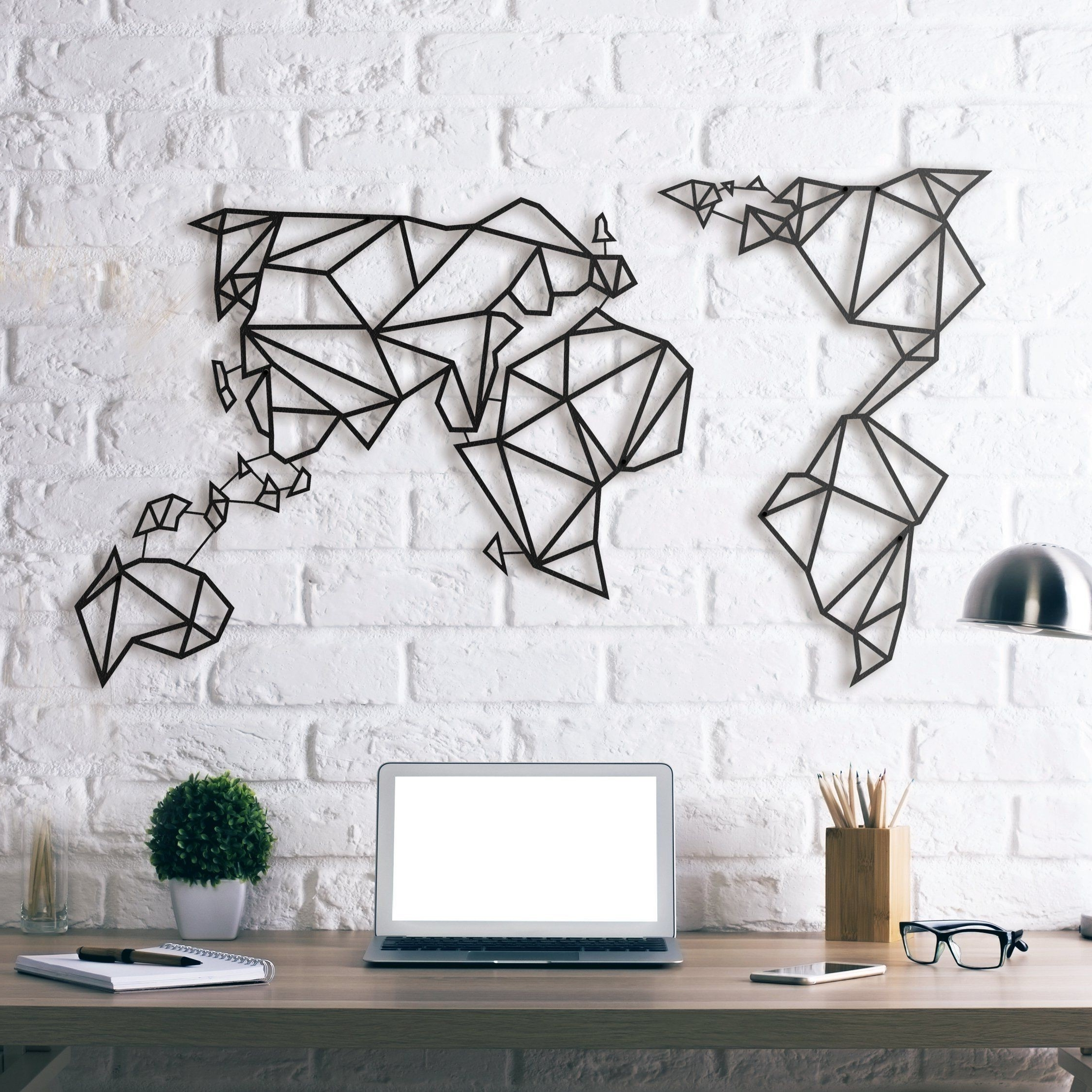 2017 World Map Wall Decor – World Maps Collection Within Maps Wall Art (Gallery 3 of 20)