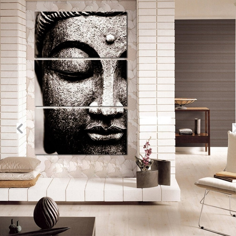 2018 Canvas Pictures Modern Wall Art Framework For Living Room Decor 3 With Regard To Modern Wall Art (View 2 of 15)