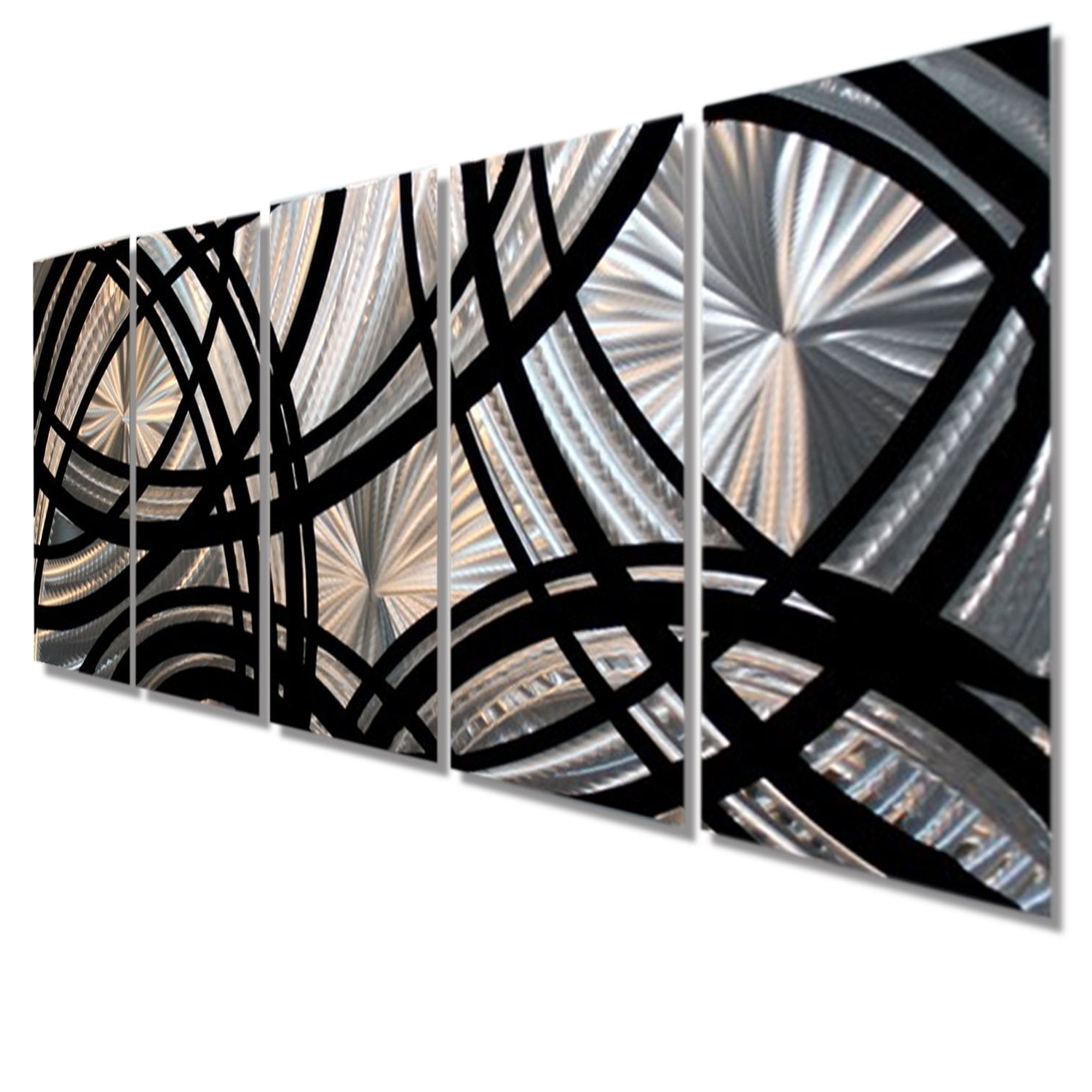 2018 Fast And Furious – All Natural Silver & Black Contemporary Metal Regarding Black Metal Wall Art (Gallery 12 of 20)