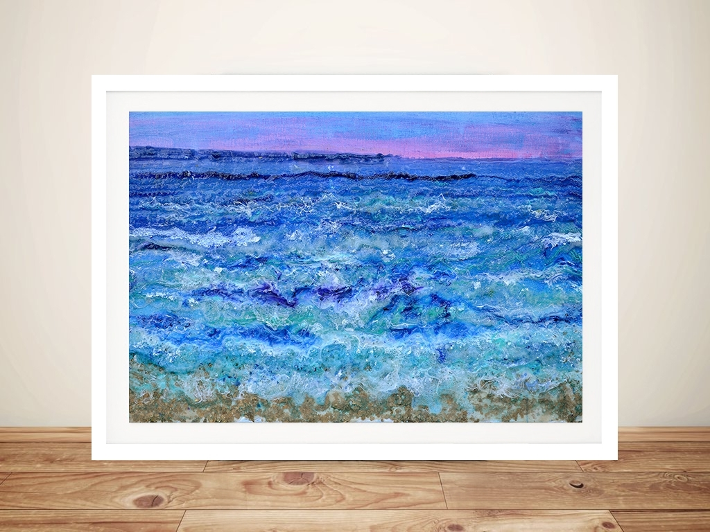 2018 Ocean Wall Art Pertaining To By The Beautiful Sea Abstract Ocean Wall Art Australia (View 5 of 20)