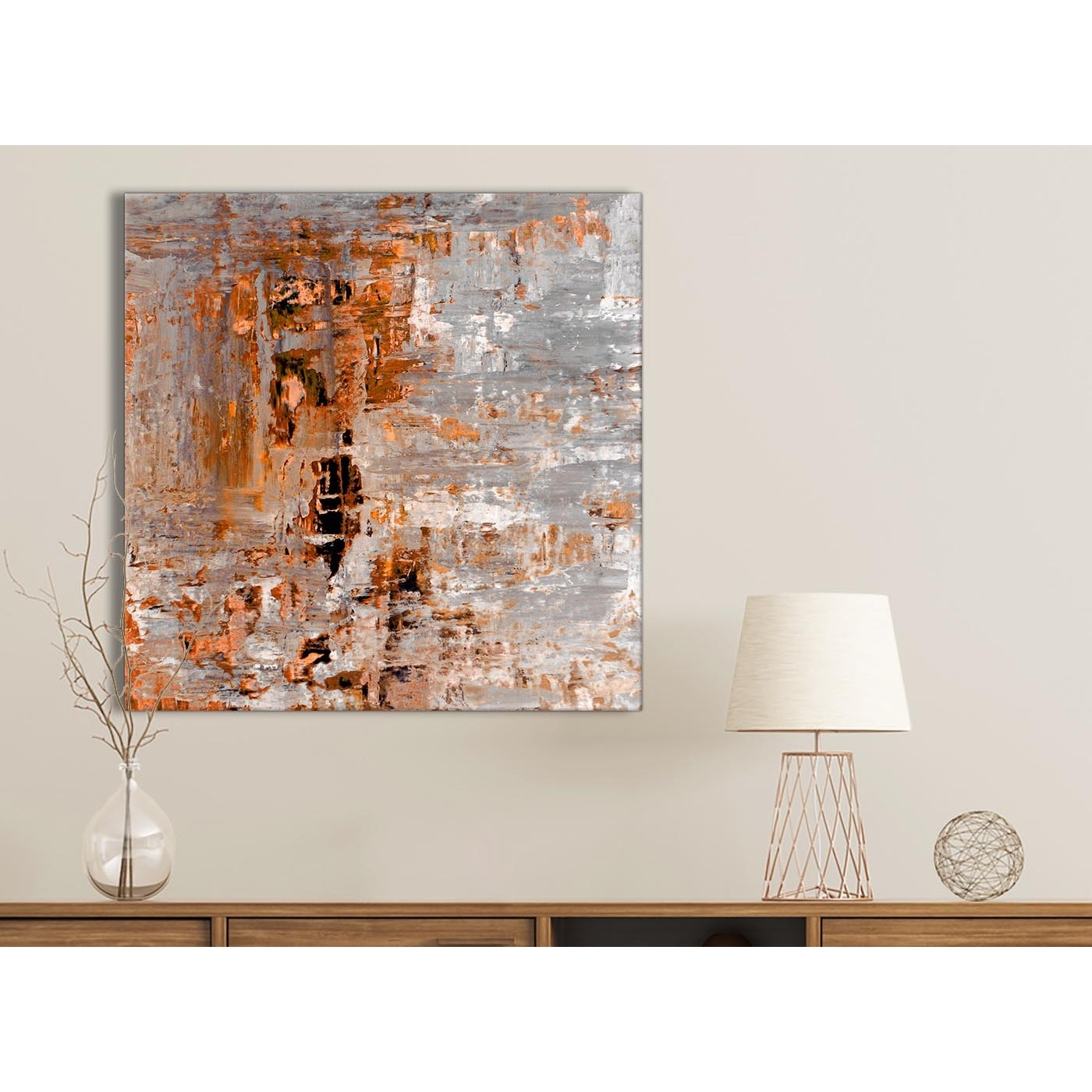 Featured Photo of Orange Wall Art