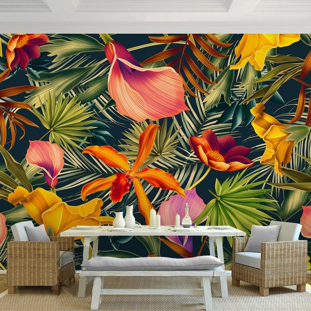 2018 Tropical Wall Art With Tropical Wall Art Best Tropical Wall Art – Wall Decoration Ideas (View 1 of 20)