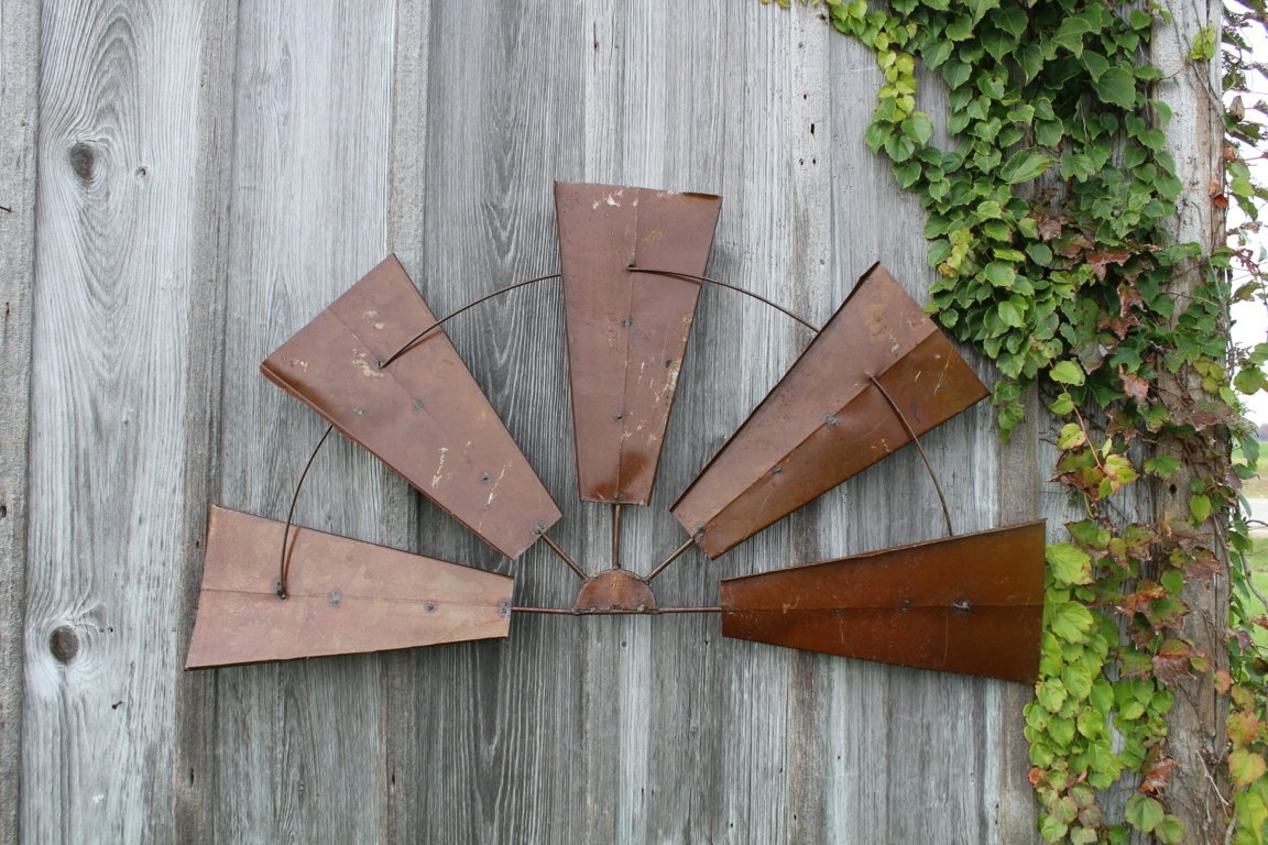 2018 Wood And Metal Wall Art With Regard To Rustic Metal Wall – Blogtipsworld (View 1 of 20)