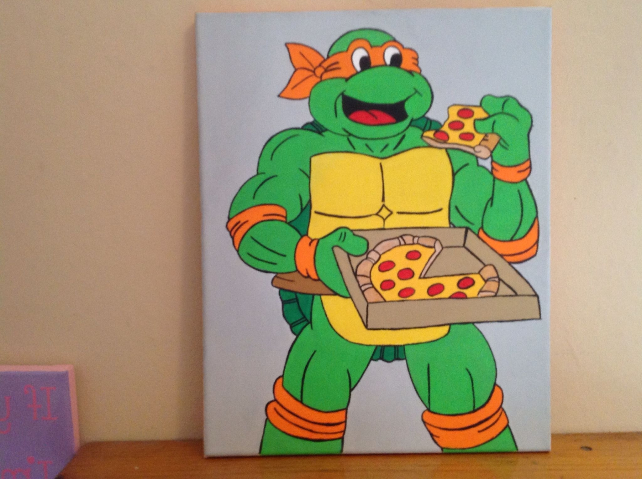 24 Best Of Teenage Mutant Ninja Turtles Wall Art (Gallery 14 of 20)