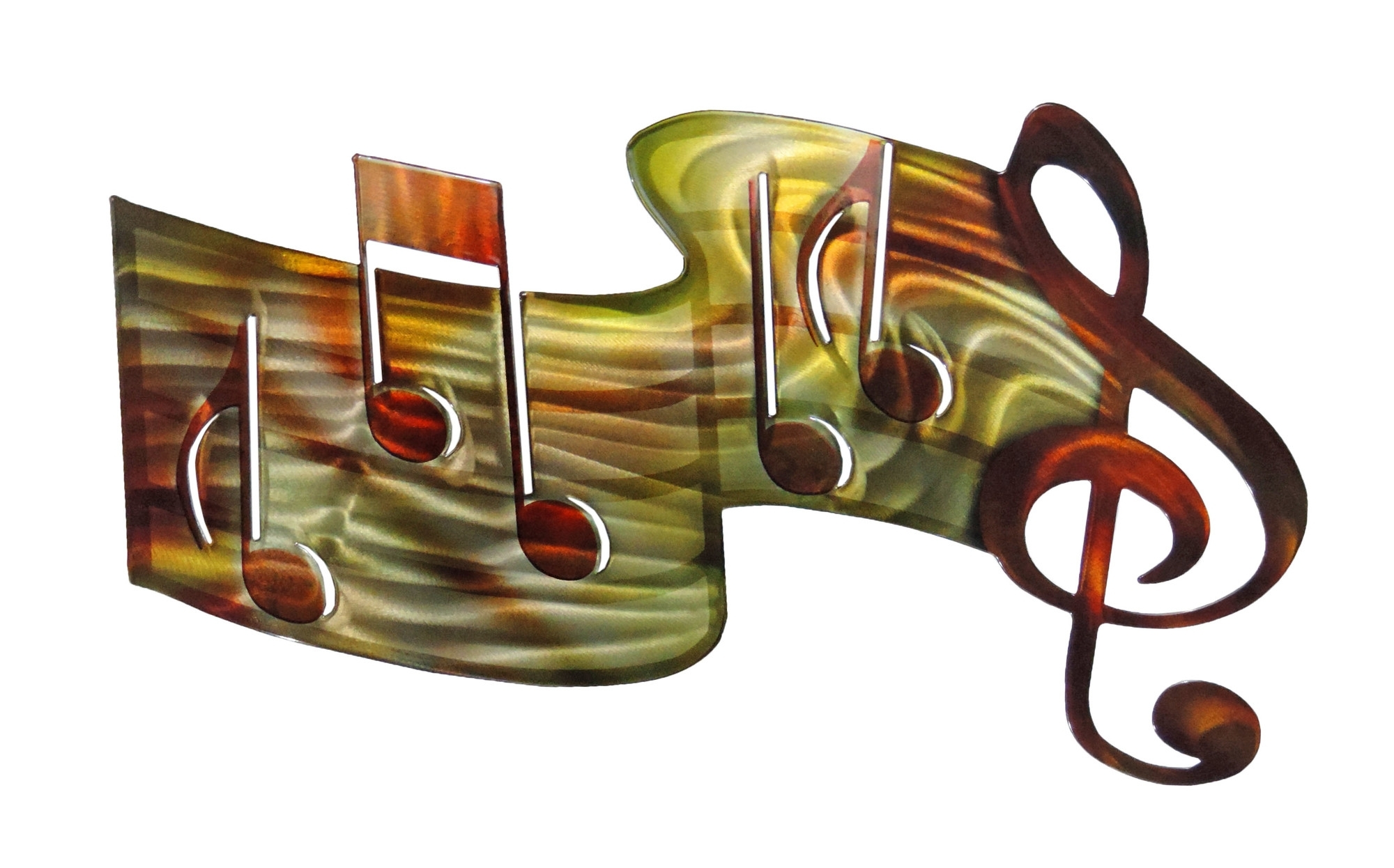 3D Music Staff – Musical Metal Wall Art In 2018 Wall Art Metal (View 2 of 20)