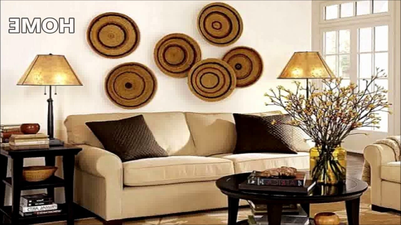 43 Living Room Wall Decor Ideas – Youtube Inside Most Popular Living Room Wall Art (View 4 of 15)