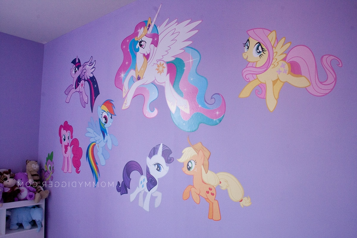 44 My Little Pony Wall Art, Wall Stickers My Little Pony Kamos Inside Most Recent My Little Pony Wall Art (Gallery 10 of 20)