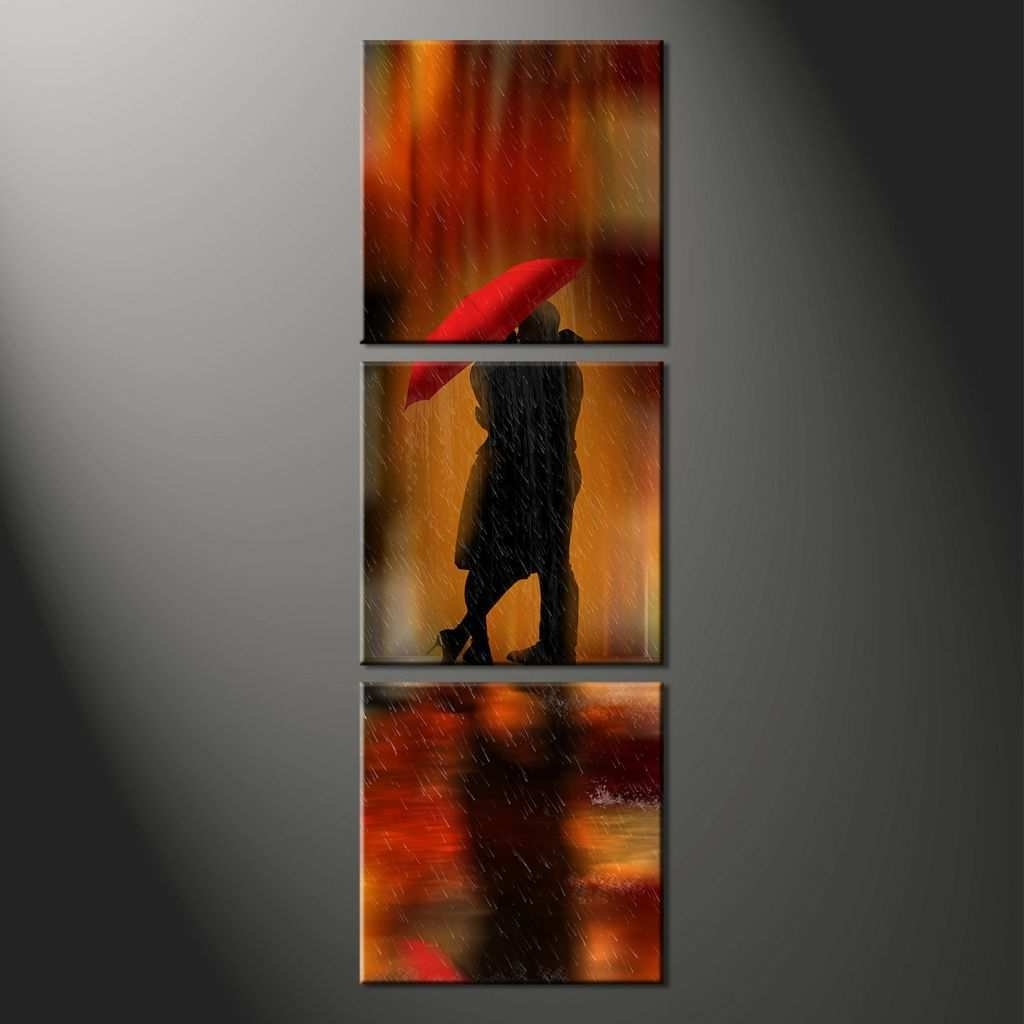 Abstract Canvas Prints Lovely Vertical Wall Art (View 2 of 20)
