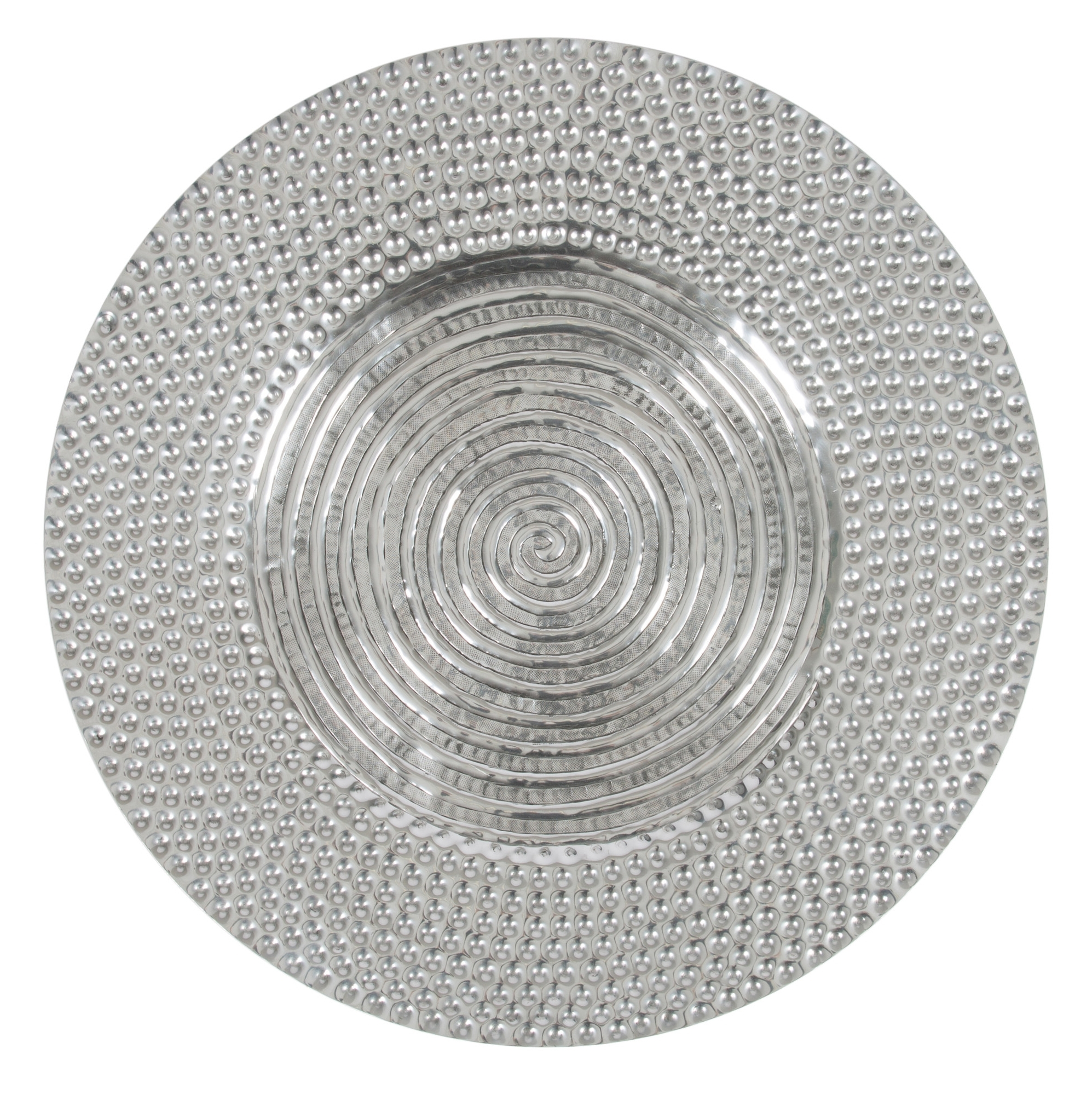 Aluminium Antique Round Wall Art (View 2 of 20)